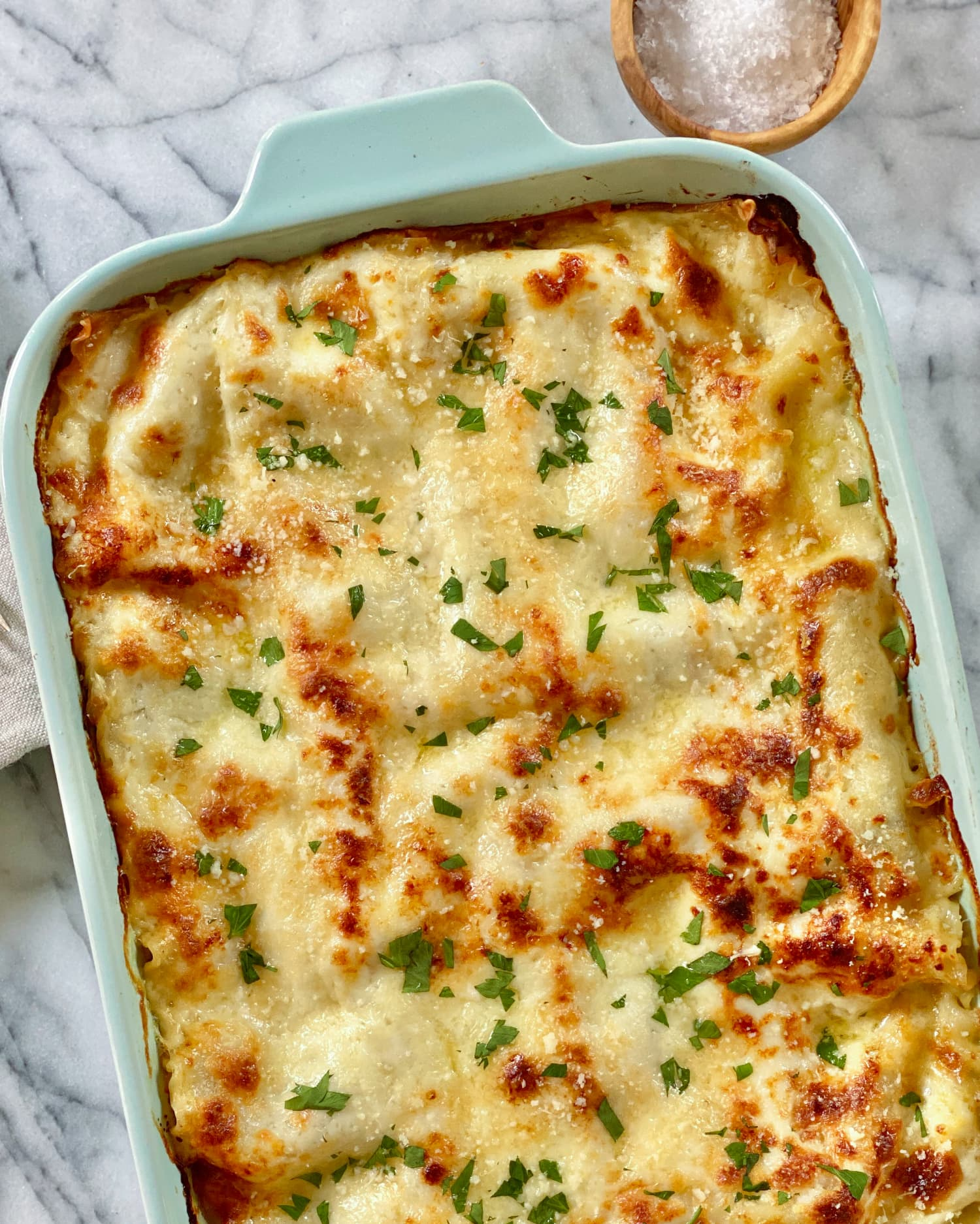 This 3-Cheese White Lasagna Is Pure Comfort