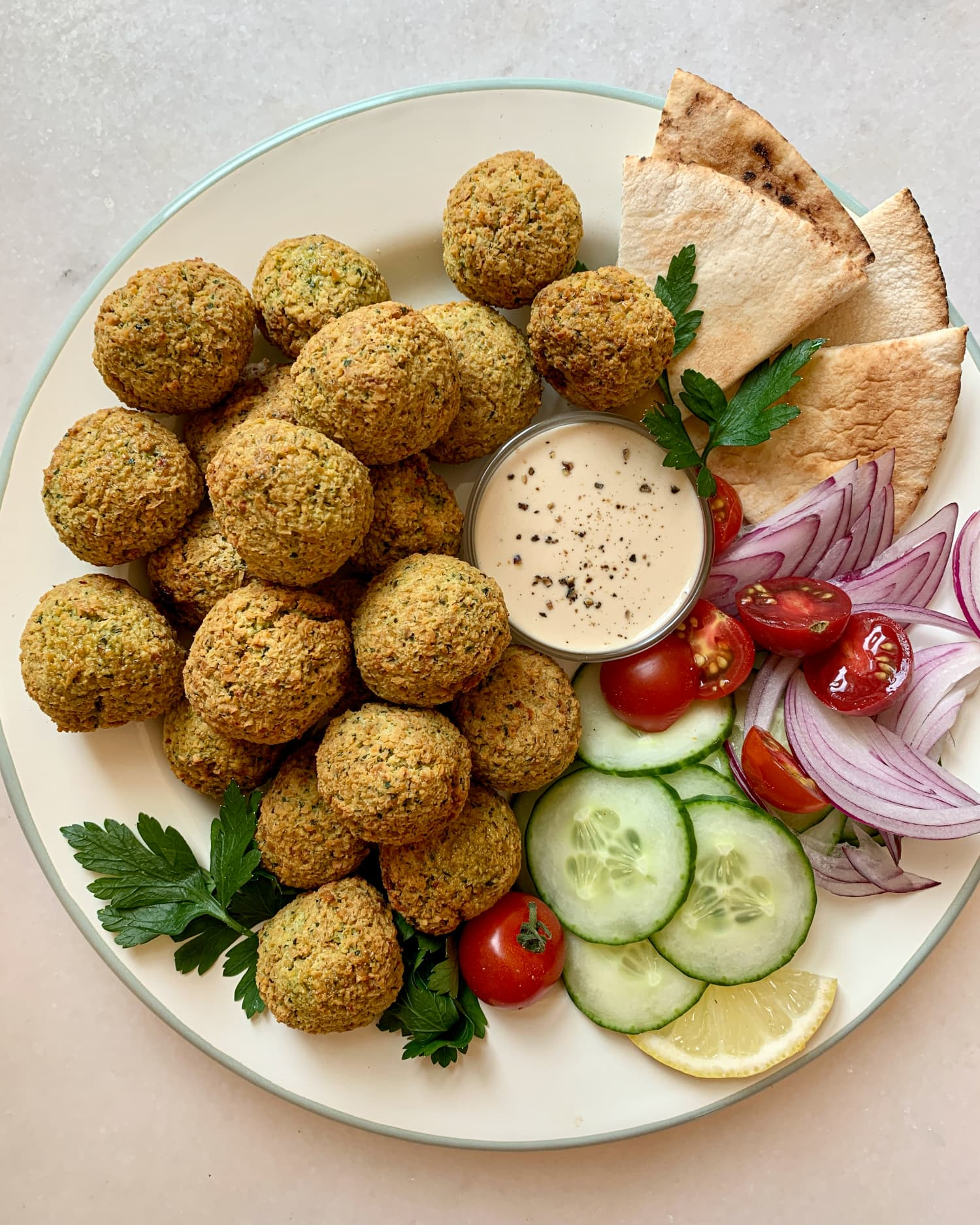 Your New Favorite Air Fryer Recipe: This Extra-Crispy Falafel