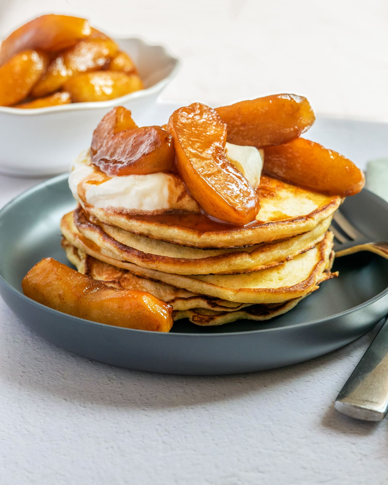 Cinnamon Apple Pancakes Should Be Your Top Priority This Fall