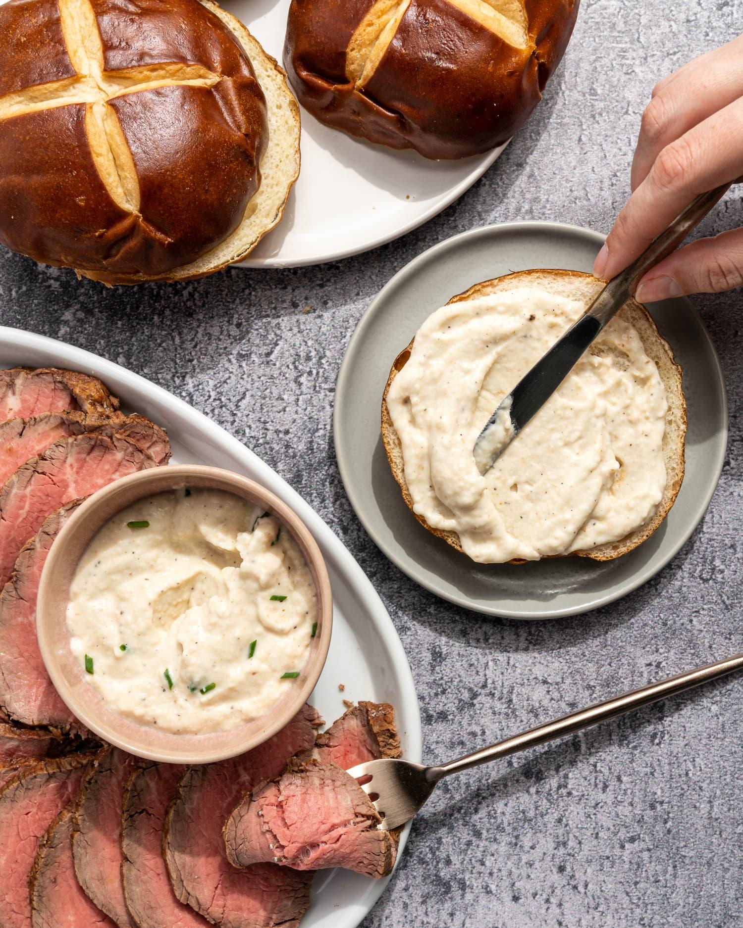 Creamy Horseradish Sauce = Your New Favorite Condiment