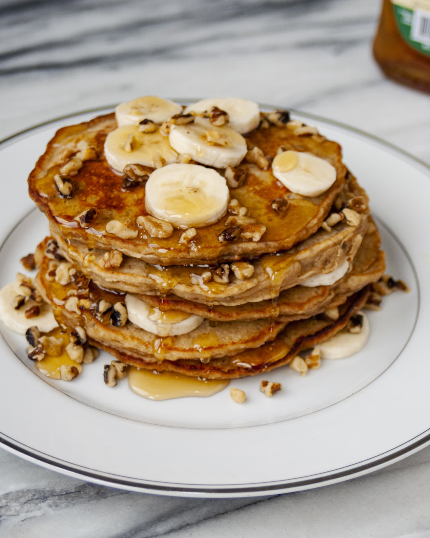 Crispy, Buttery Banana Bread Pancakes Will Satisfy Your Every Craving
