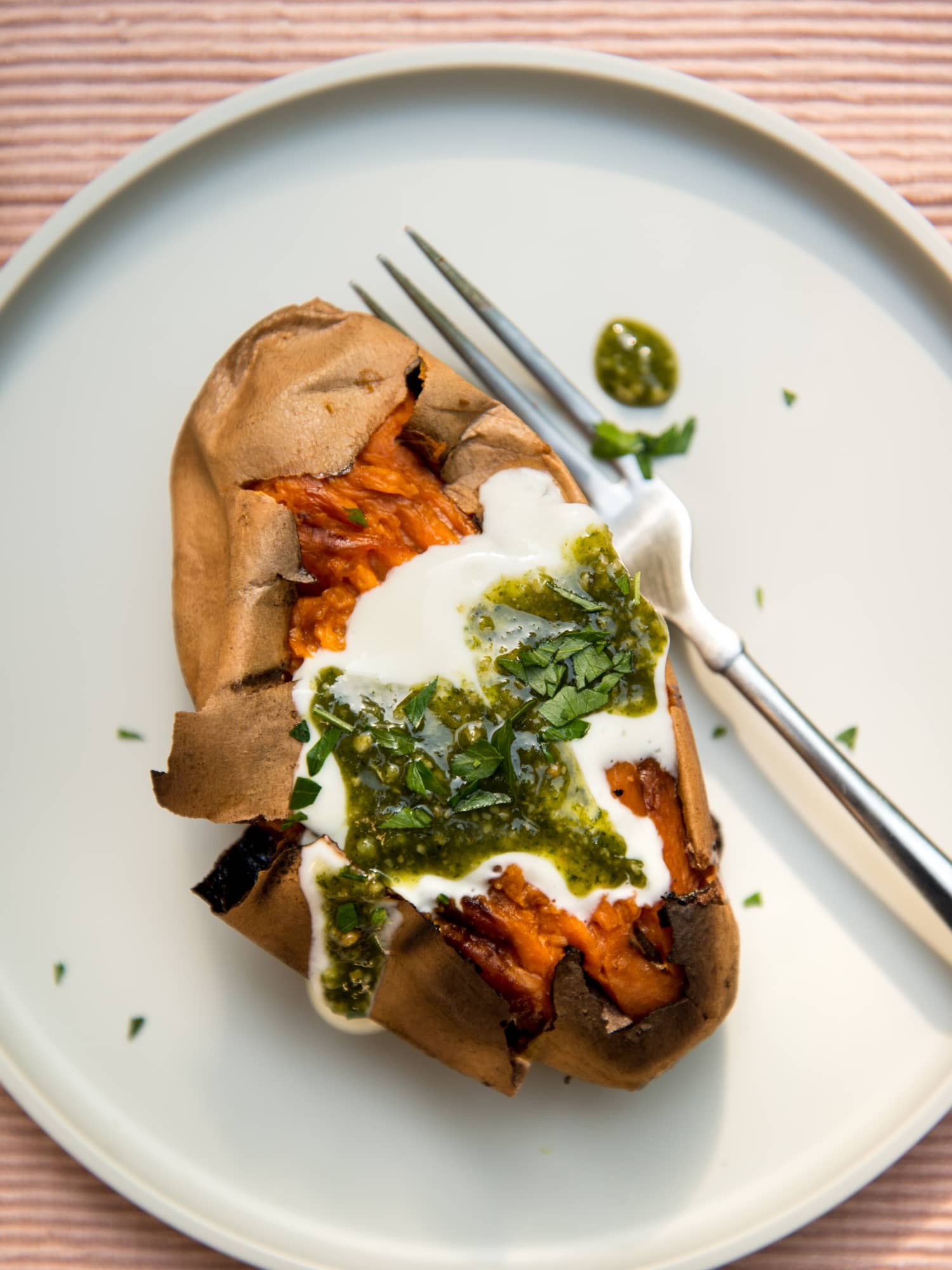 Wait! This Is Actually the Best Way to Meal Prep Your Sweet Potatoes.