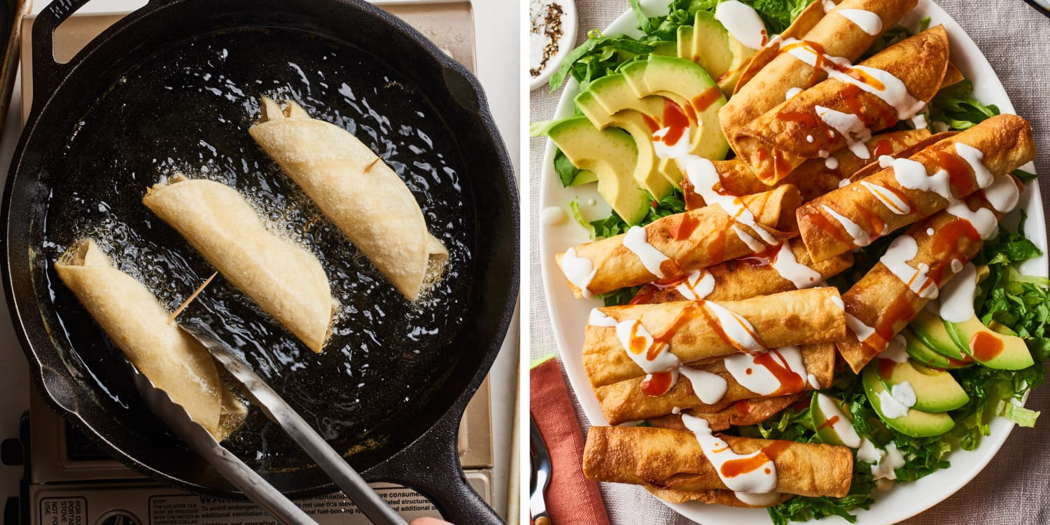 How to Make the Absolute Best Chicken Flautas In Just 30 Minutes
