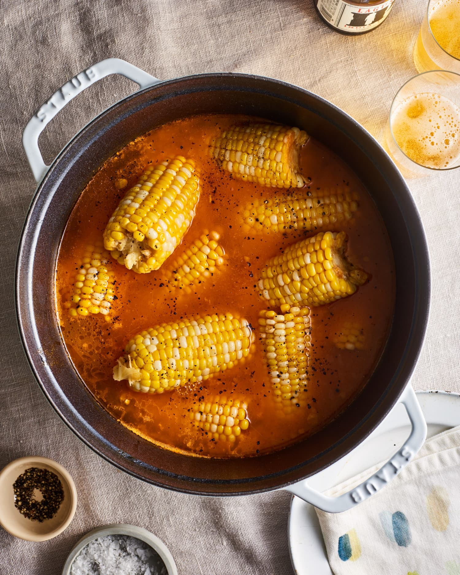 Spicy Buffalo Butter Bath Corn Is Calling Your Name