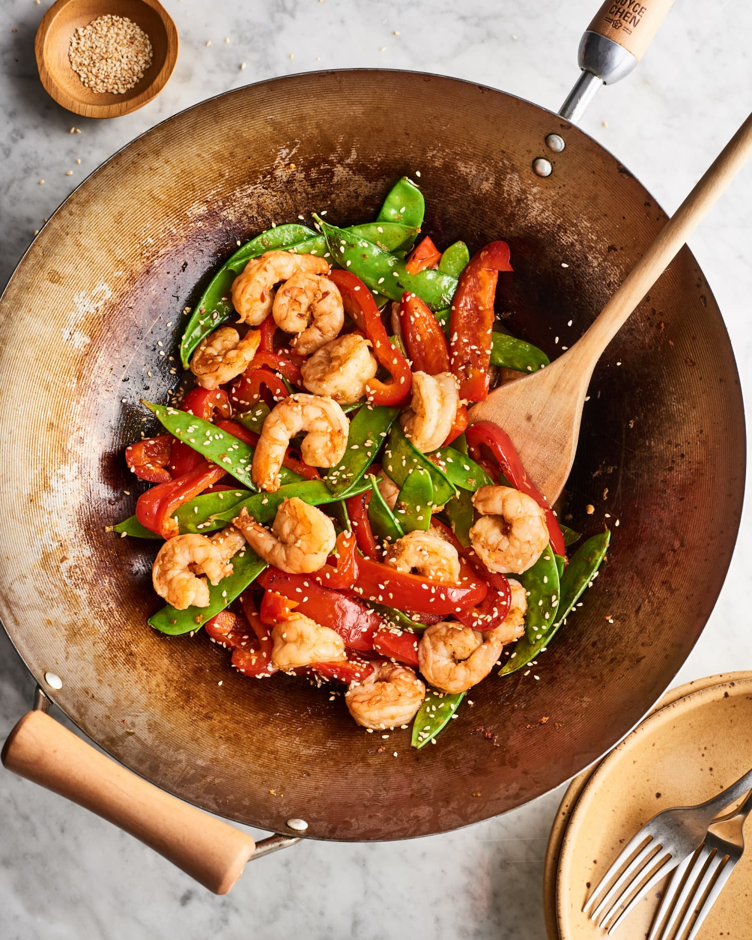 15-Minute Shrimp & Veggie Stir-Fry