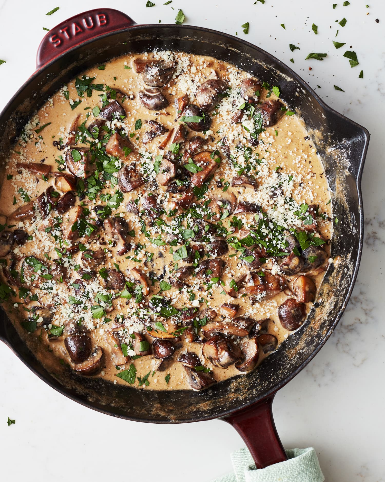 Creamy Garlic Parmesan Mushrooms Instantly Upgrade Everything They Touch