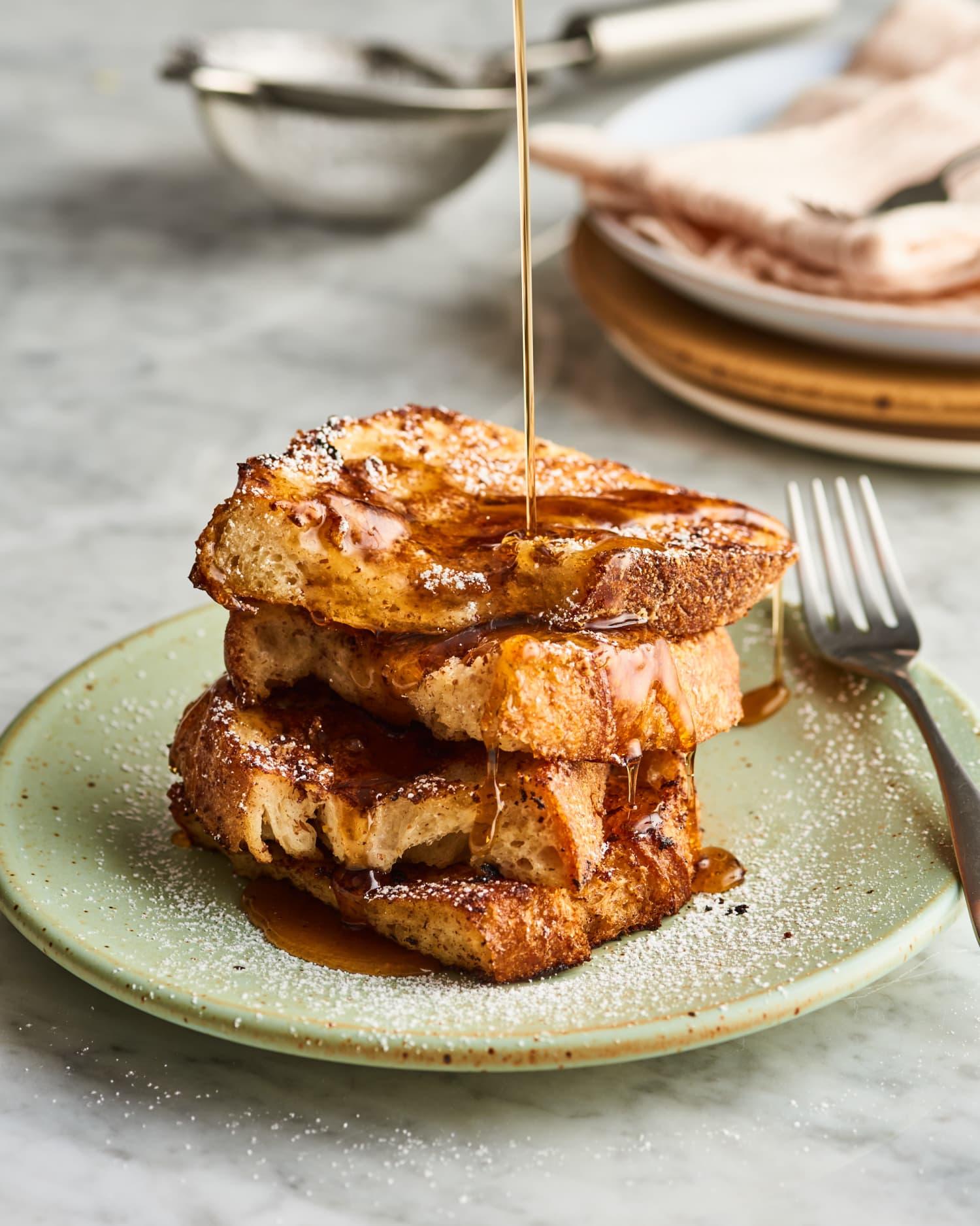 Shockingly Delicious Vegan French Toast