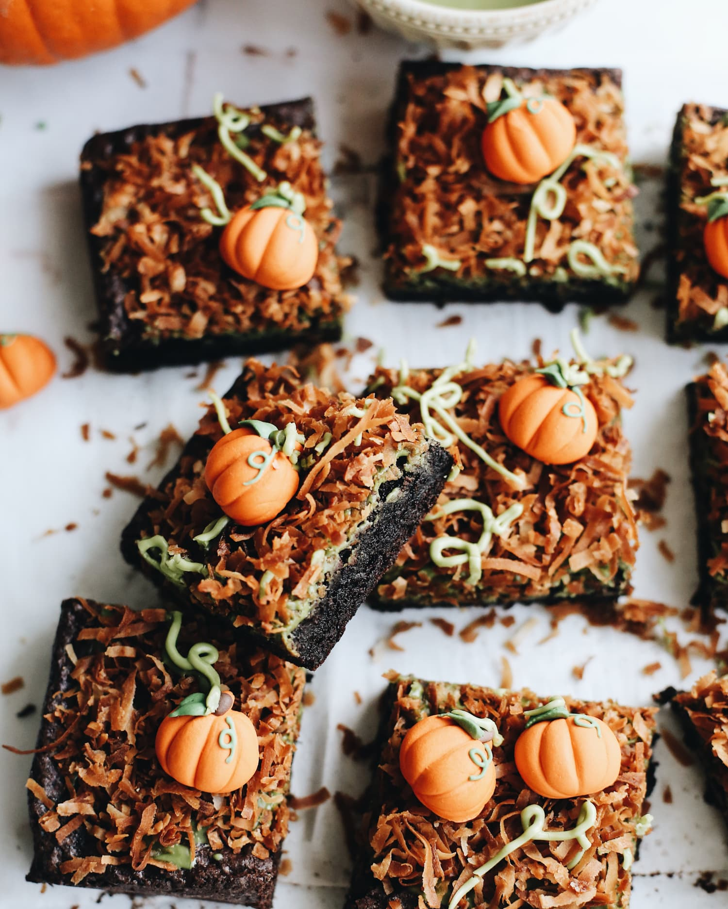 Easy, Delicious Pumpkin Patch Brownies Are a Seasonal Must