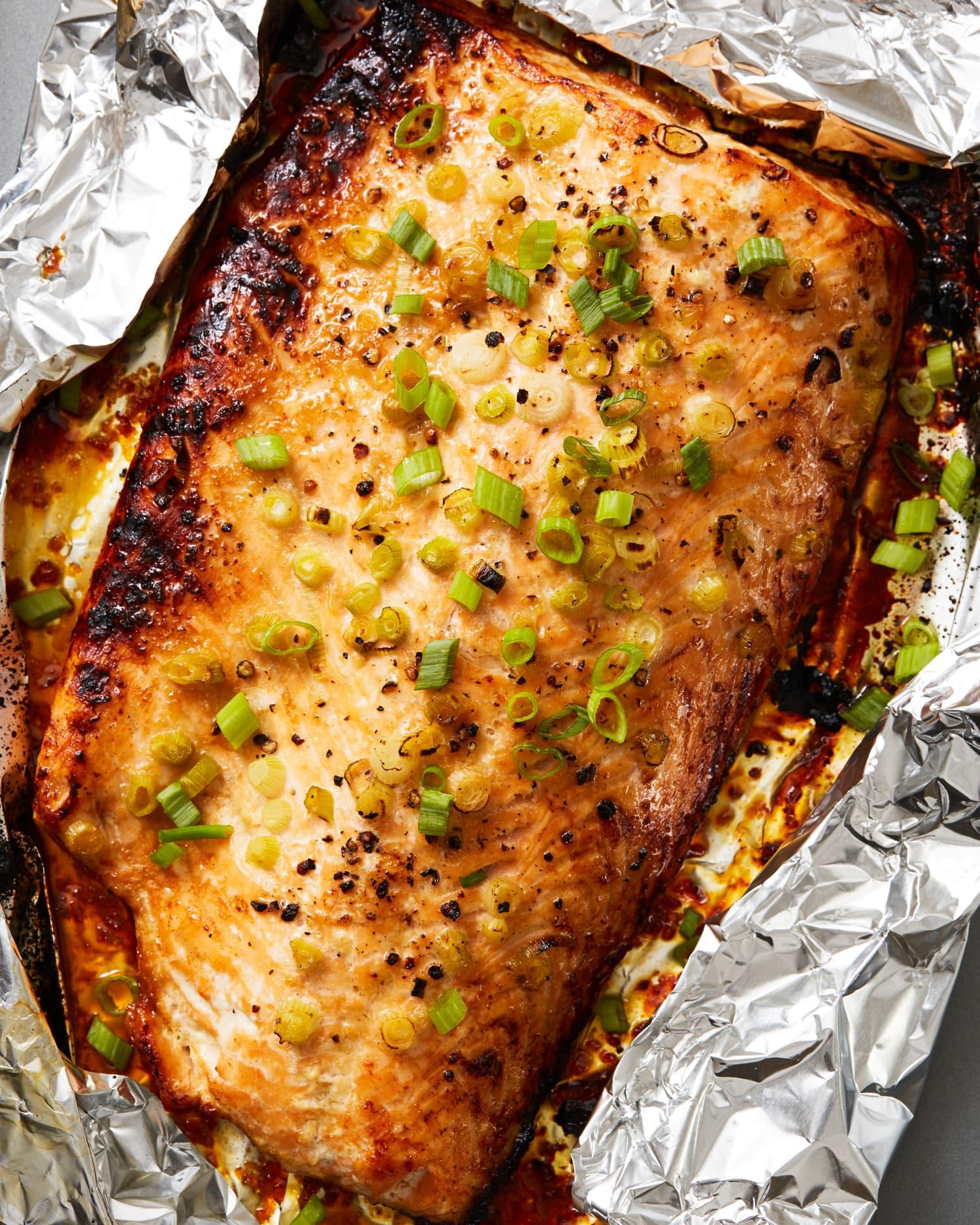Easy, Impressive Brown Sugar Glazed Salmon