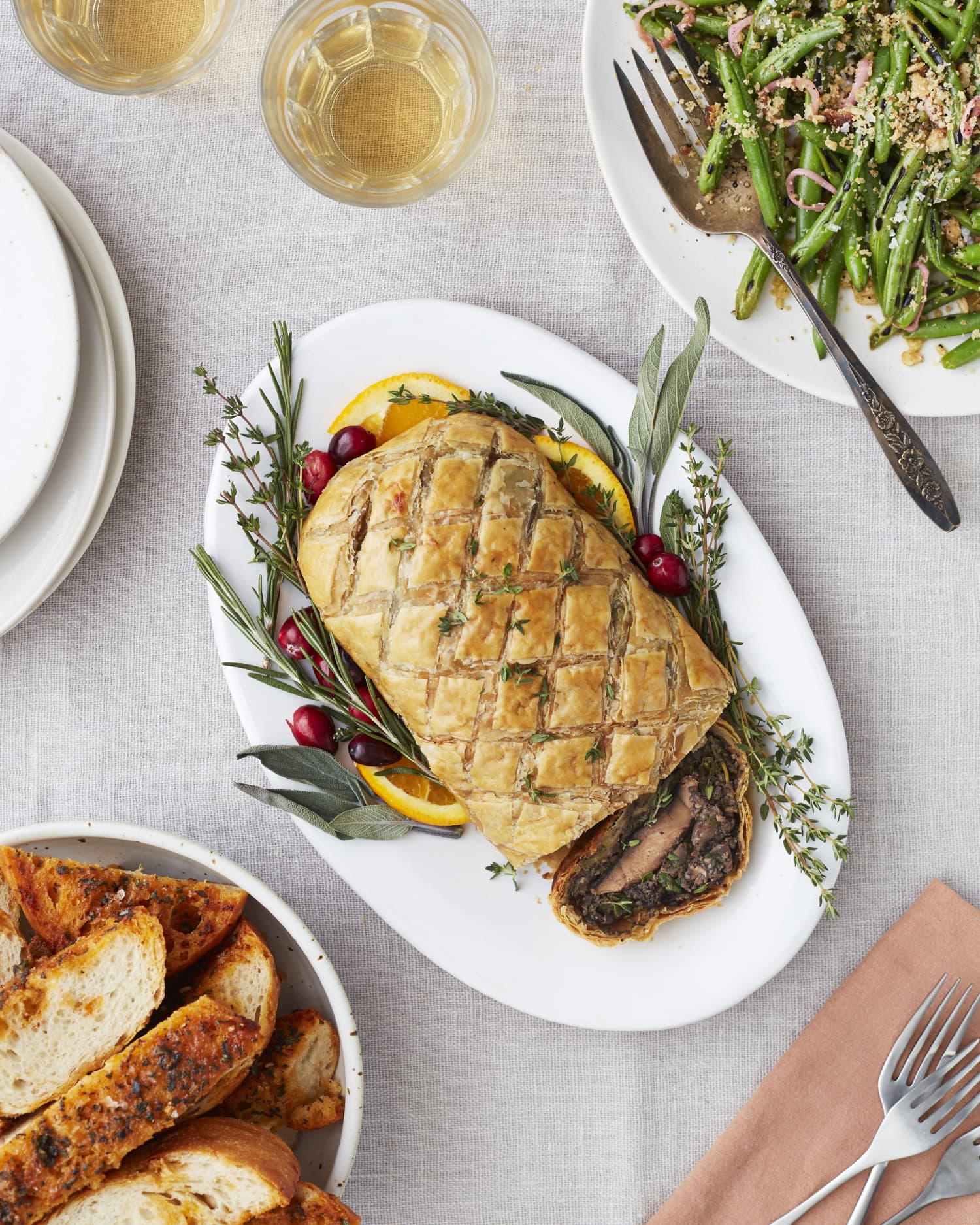 Vegetarian Mushroom Wellington Is the Ultimate Main Dish for Mushroom-Lovers