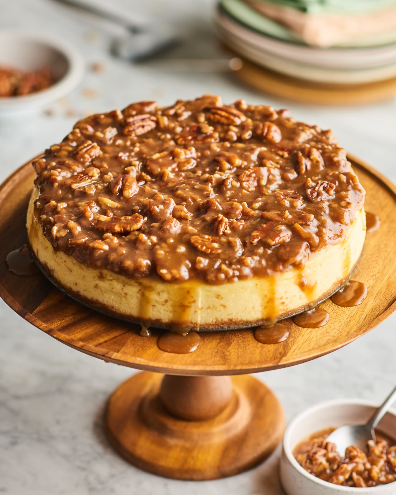 Pecan Pie Cheesecake Is Over-the-Top in All the Right Ways