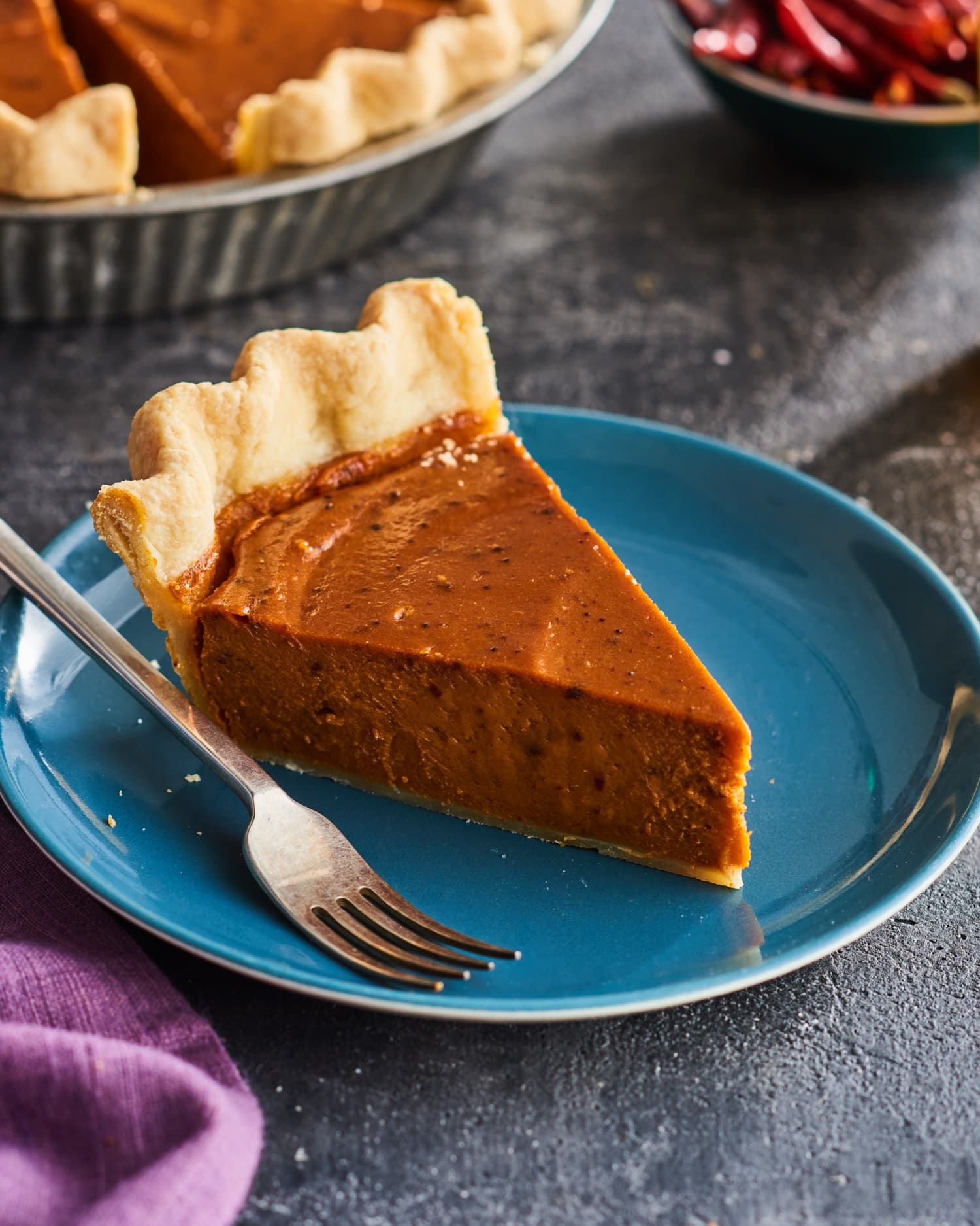 A Classic Sweet Potato Pie with a Texas Twist