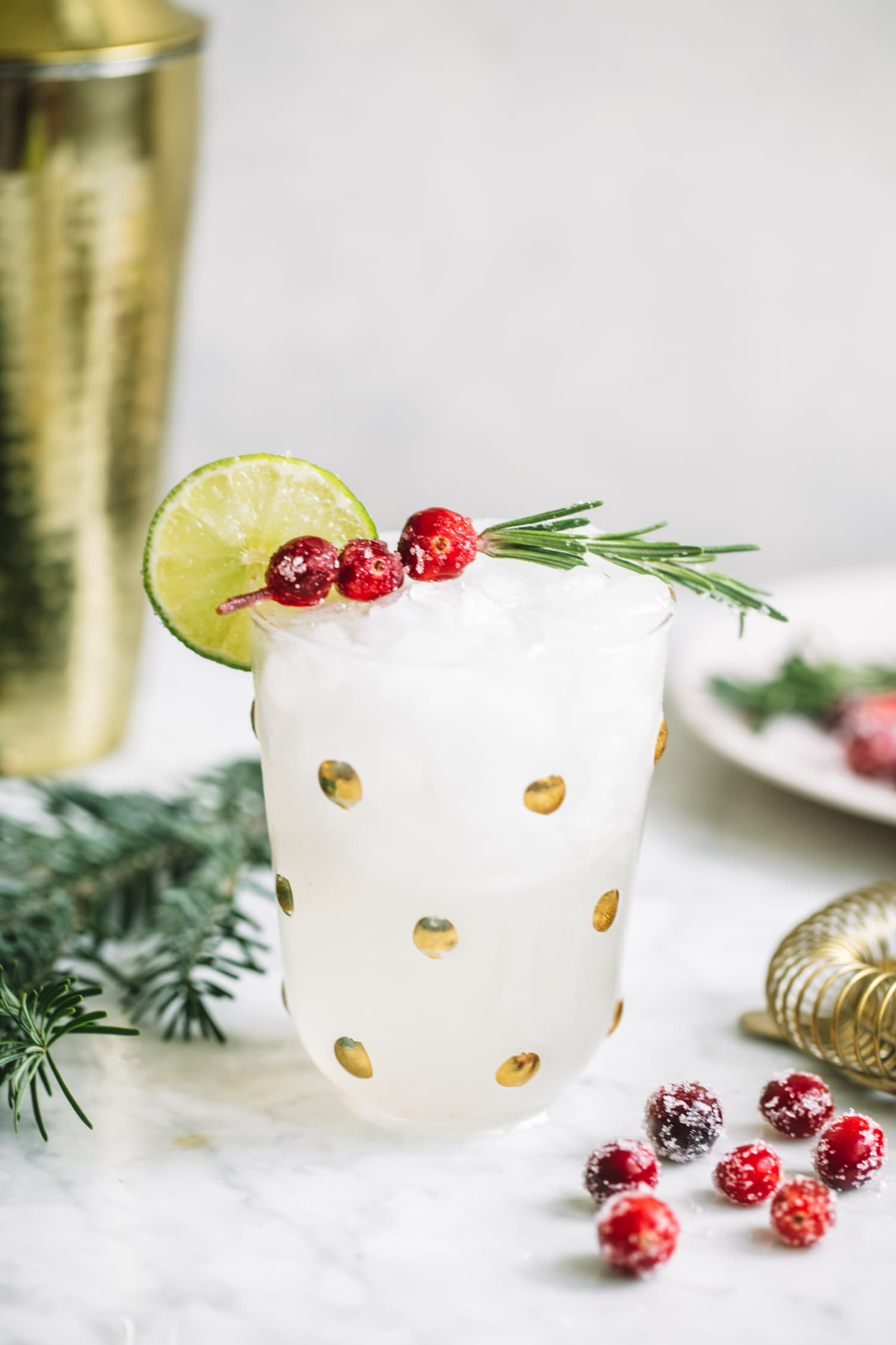 White Cranberry Margaritas Will Melt Away All Your Holiday Stress