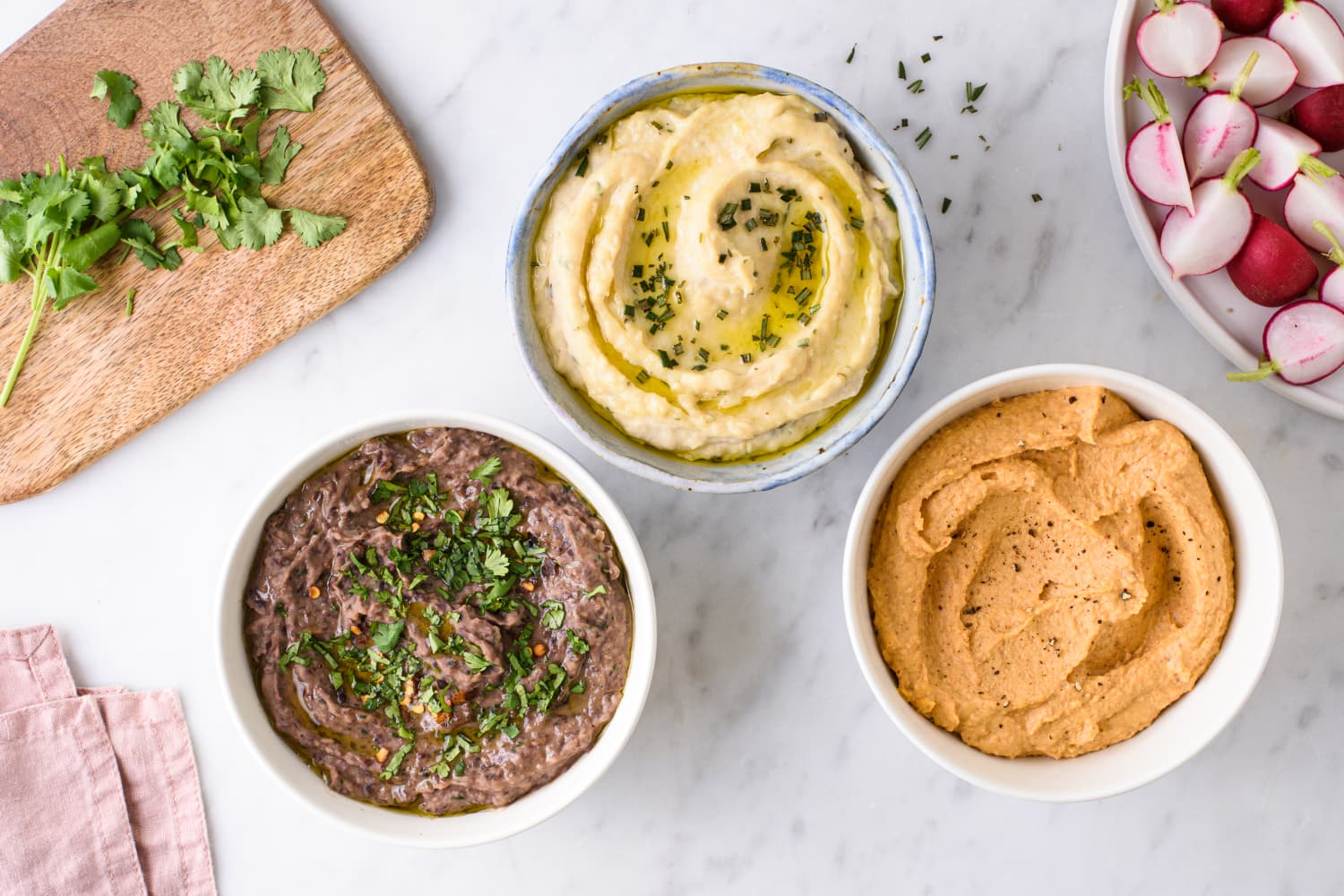 3 Easy, Protein-Packed Dips to Add to Your Meal Prep Routine