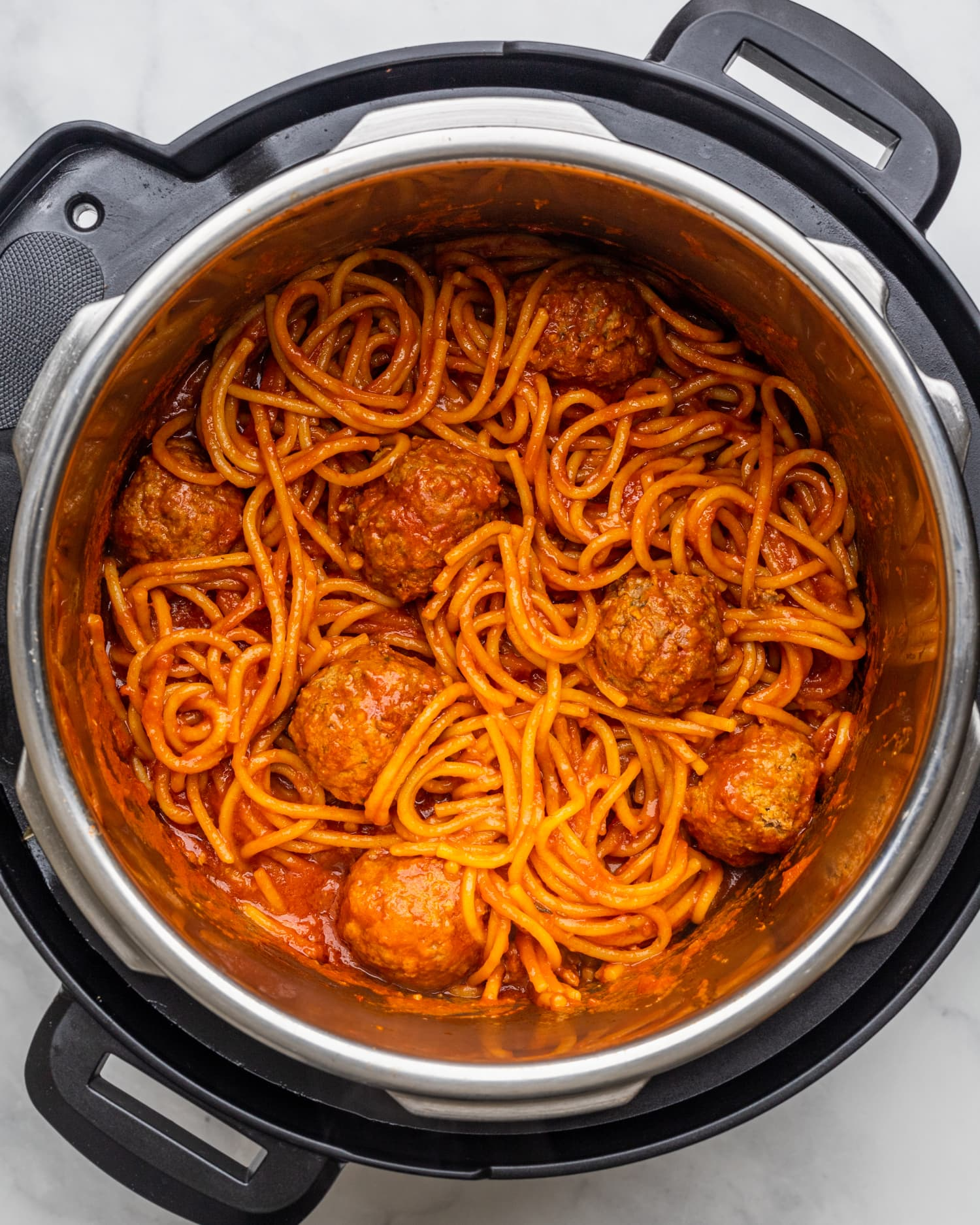 Instant Pot Spaghetti & Meatballs Is an Instant Classic