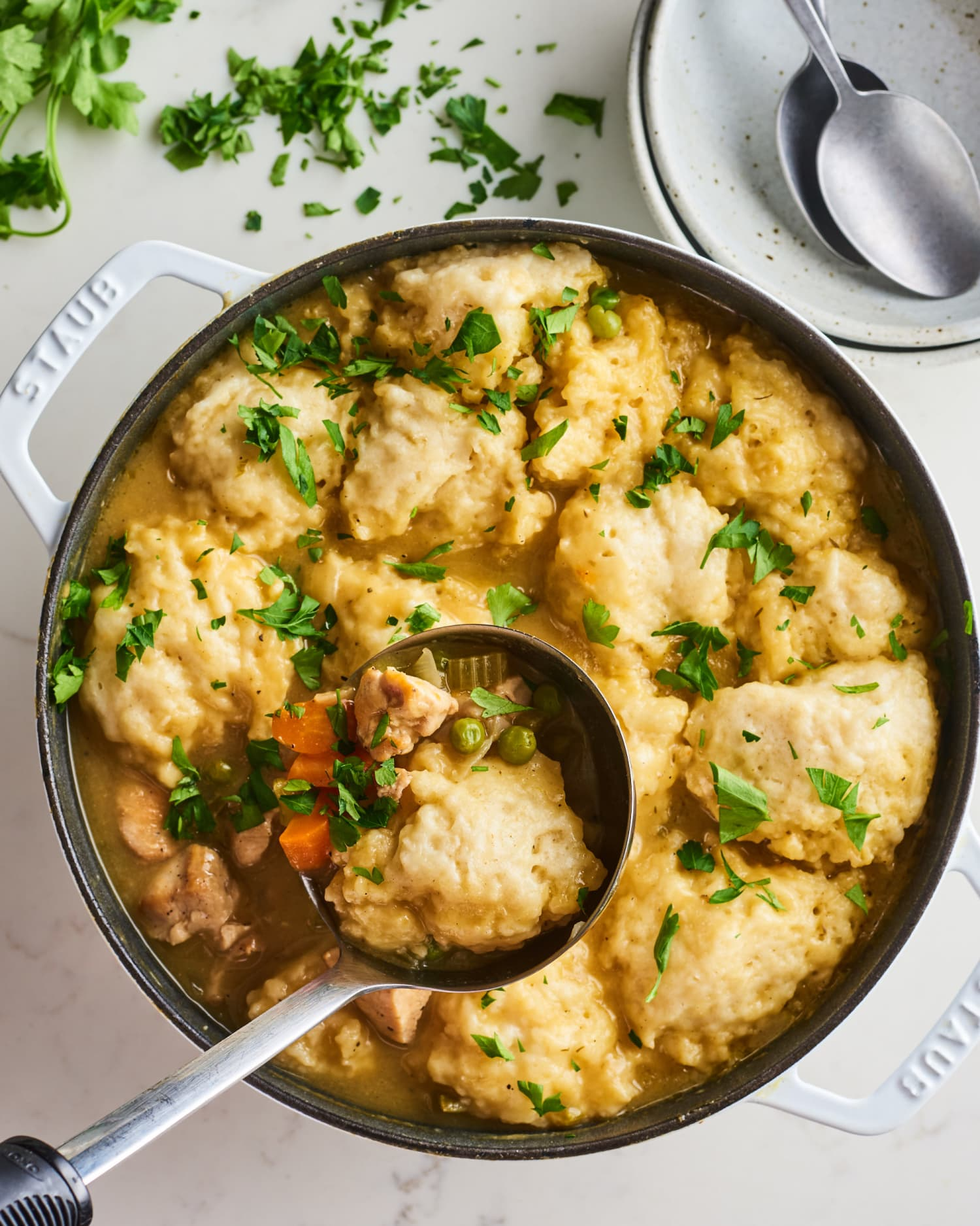 2 Simple Tips for Making Perfect Chicken and Dumplings