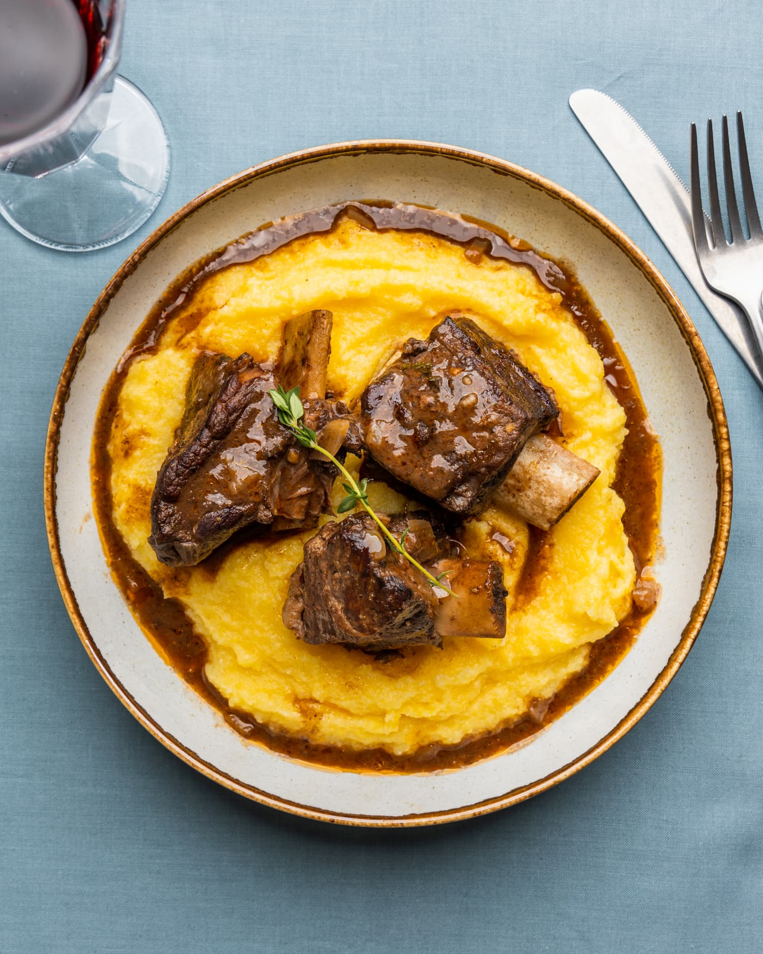 Red Wine-Braised Short Ribs Will Remind You Why Your Slow Cooker Is Awesome