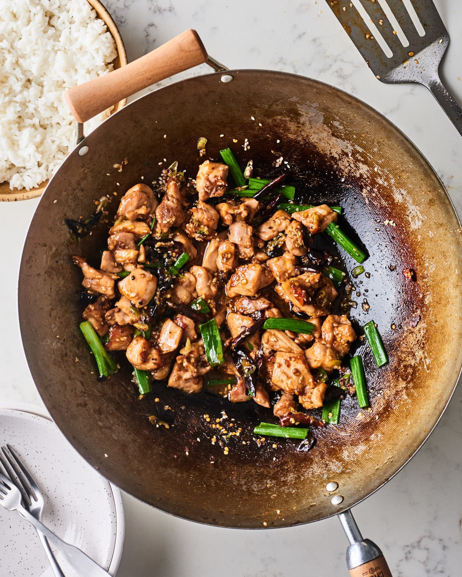 How To Make Weeknight-Friendly Szechuan Chicken