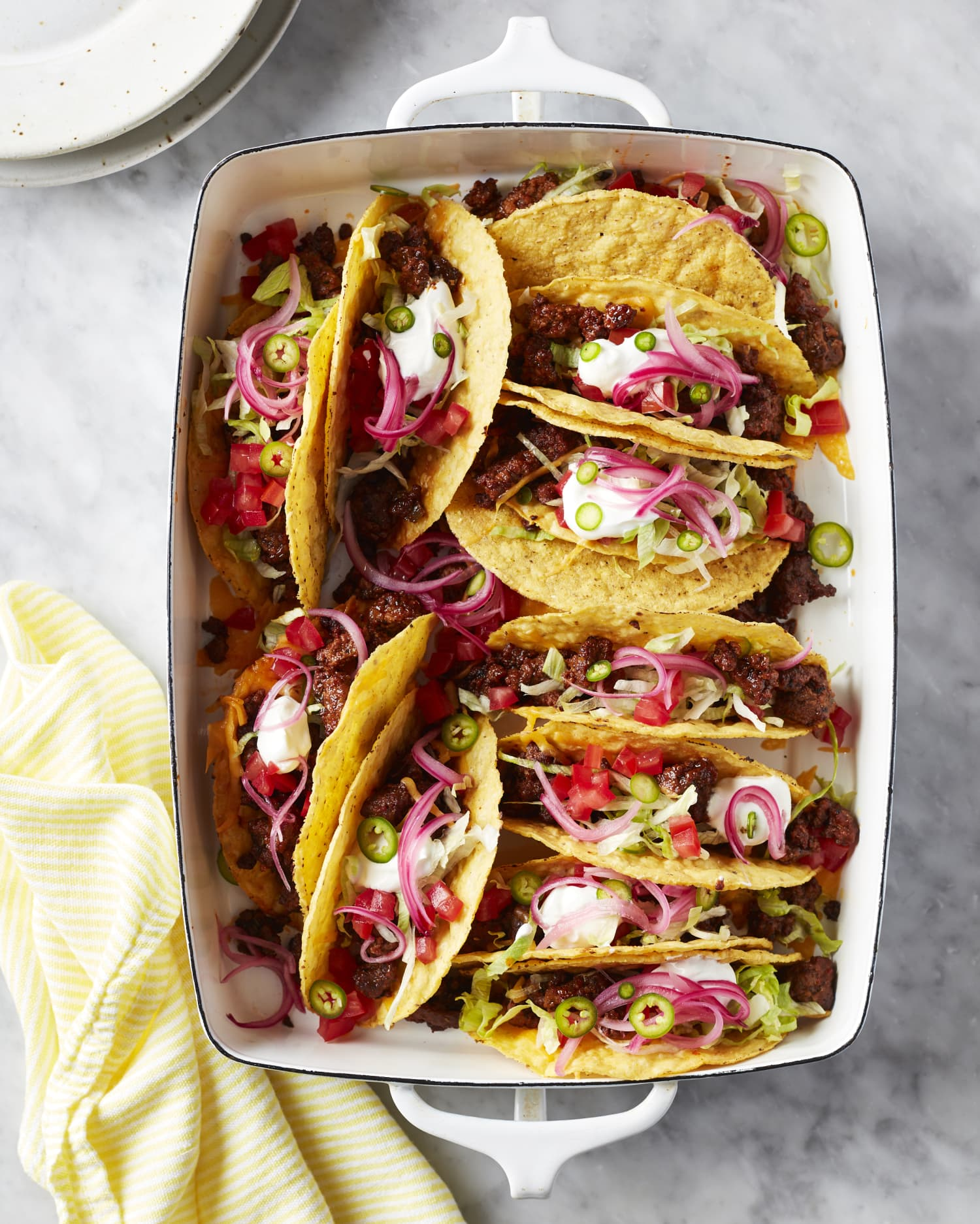 These Crispy Beef Tacos Are the Nostalgic Dinner I Need Right Now