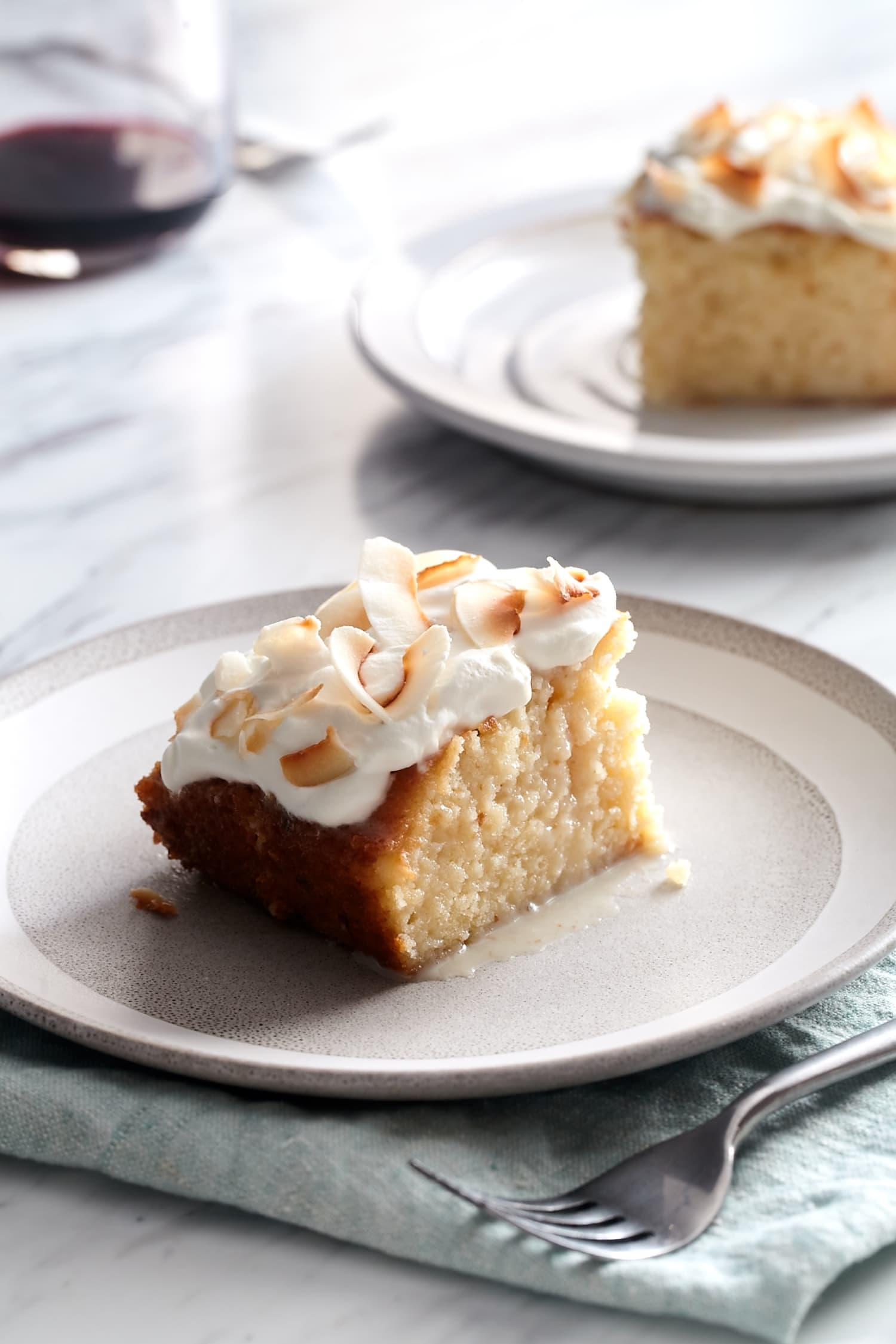 This Boozy Coconut Tres Leches Cake Is Spiked with Rum