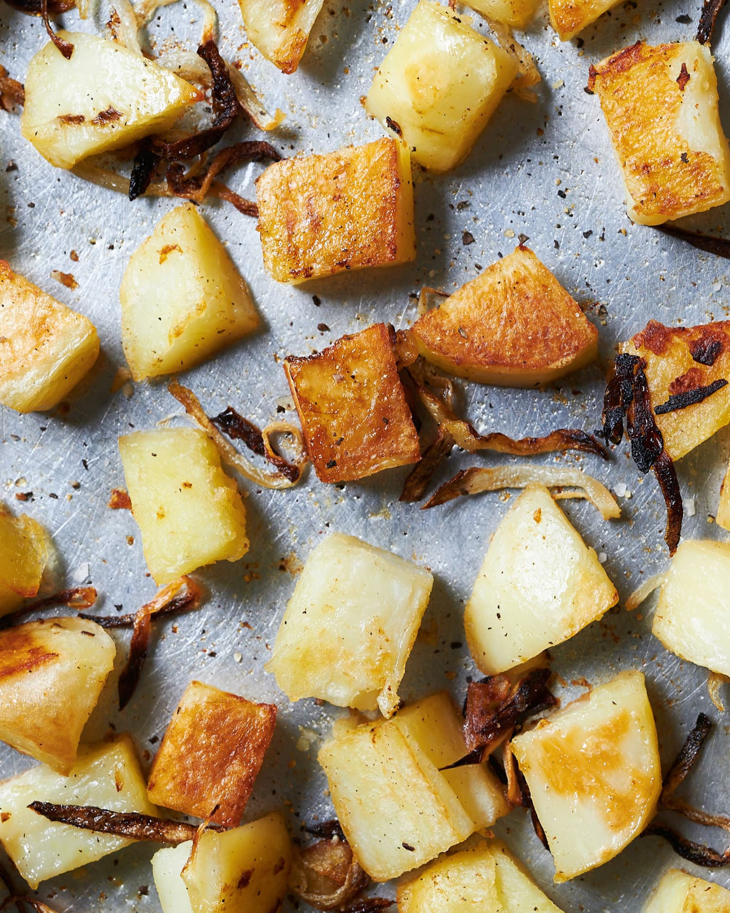 This Simple Technique Makes the Crispiest Potatoes with Creamy, Fluffy Insides