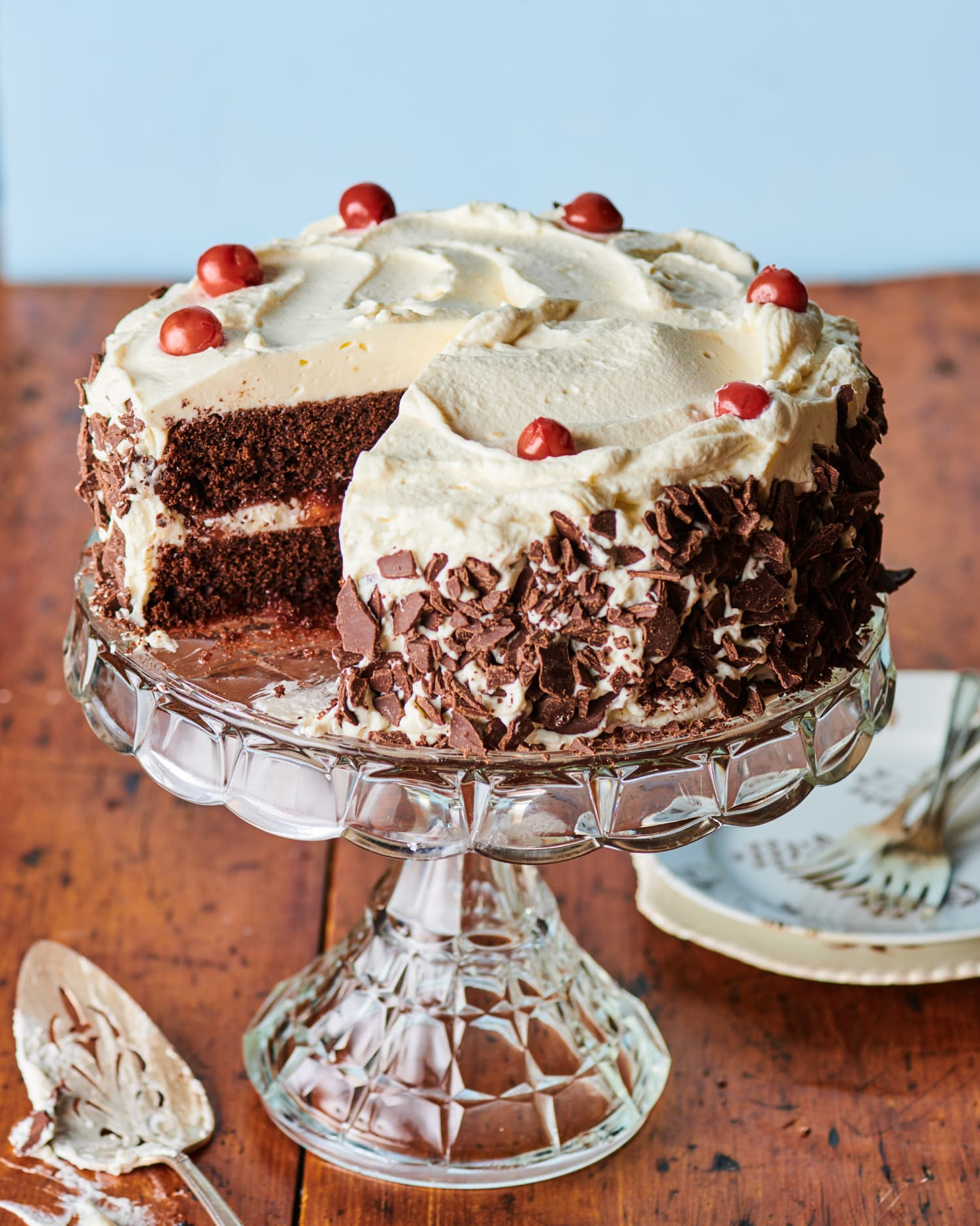 How to Make an Intensely Chocolatey Black Forest Cake at Home
