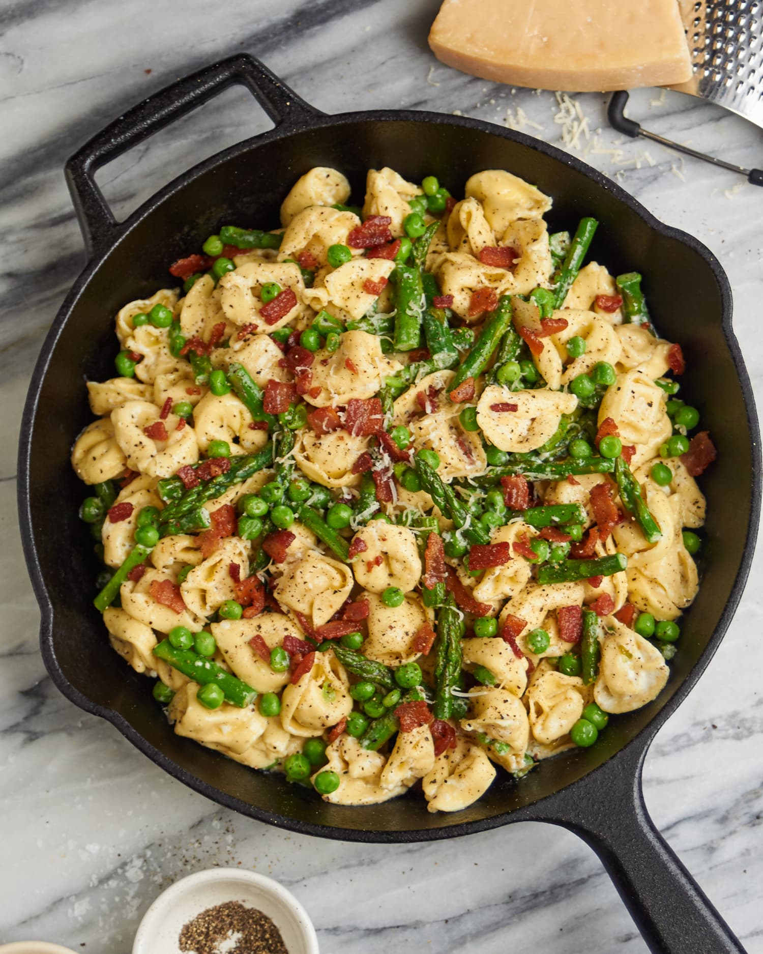 This One-Skillet Tortellini Dinner Is a Must-Make for Spring