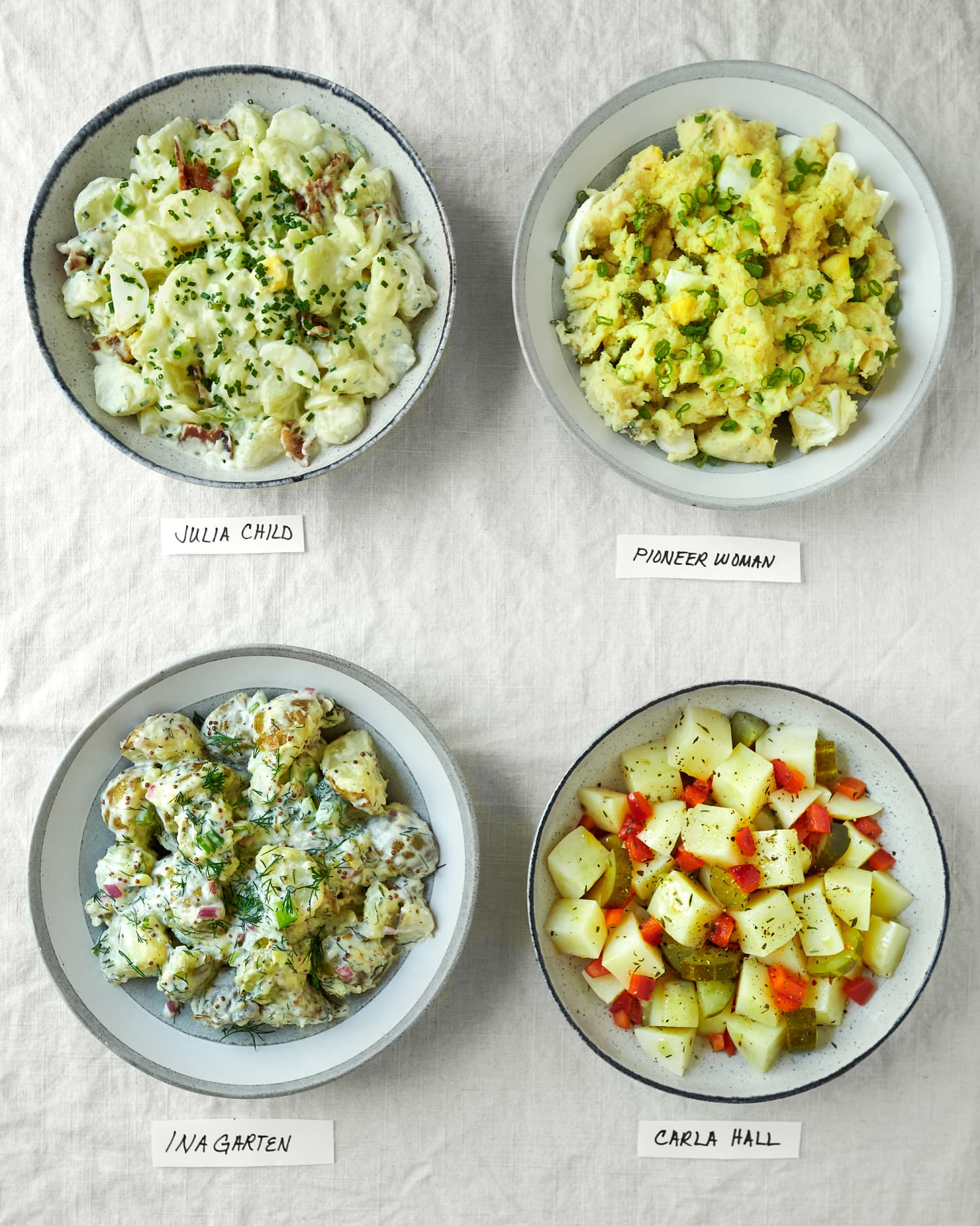 We Tried 4 Famous Potato Salad Recipes (and the Results Were Extra-Surprising!)