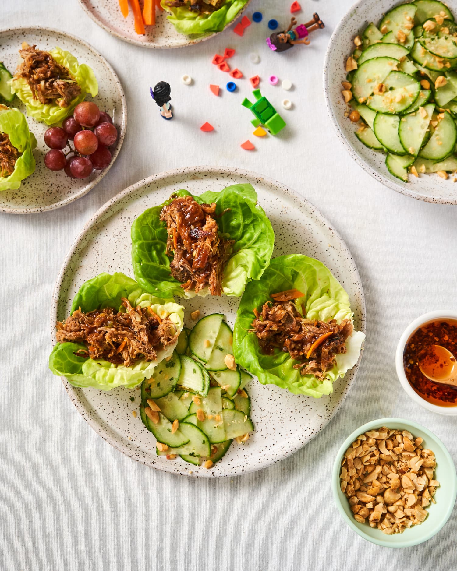 Pulled Pork Lettuce Wraps Are Sweet, Savory, and Refreshing