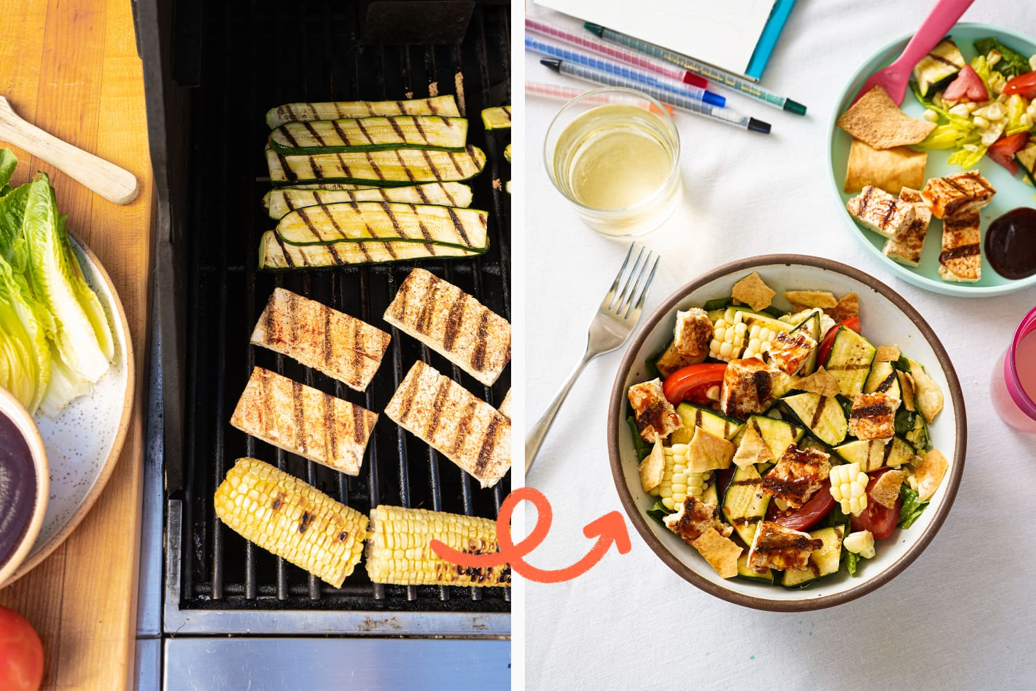 Turn a Big Batch of Tofu and Veggies into 2 Impossibly Easy Weeknight Meals