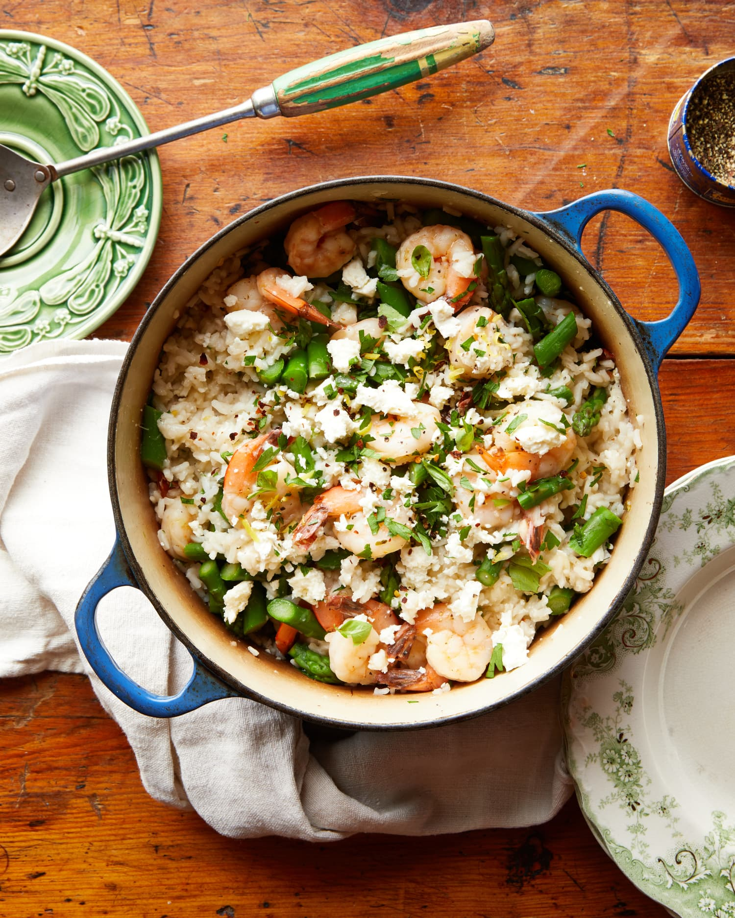One-Pot Mediterranean Shrimp and Rice Is the Easy Meal You Crave