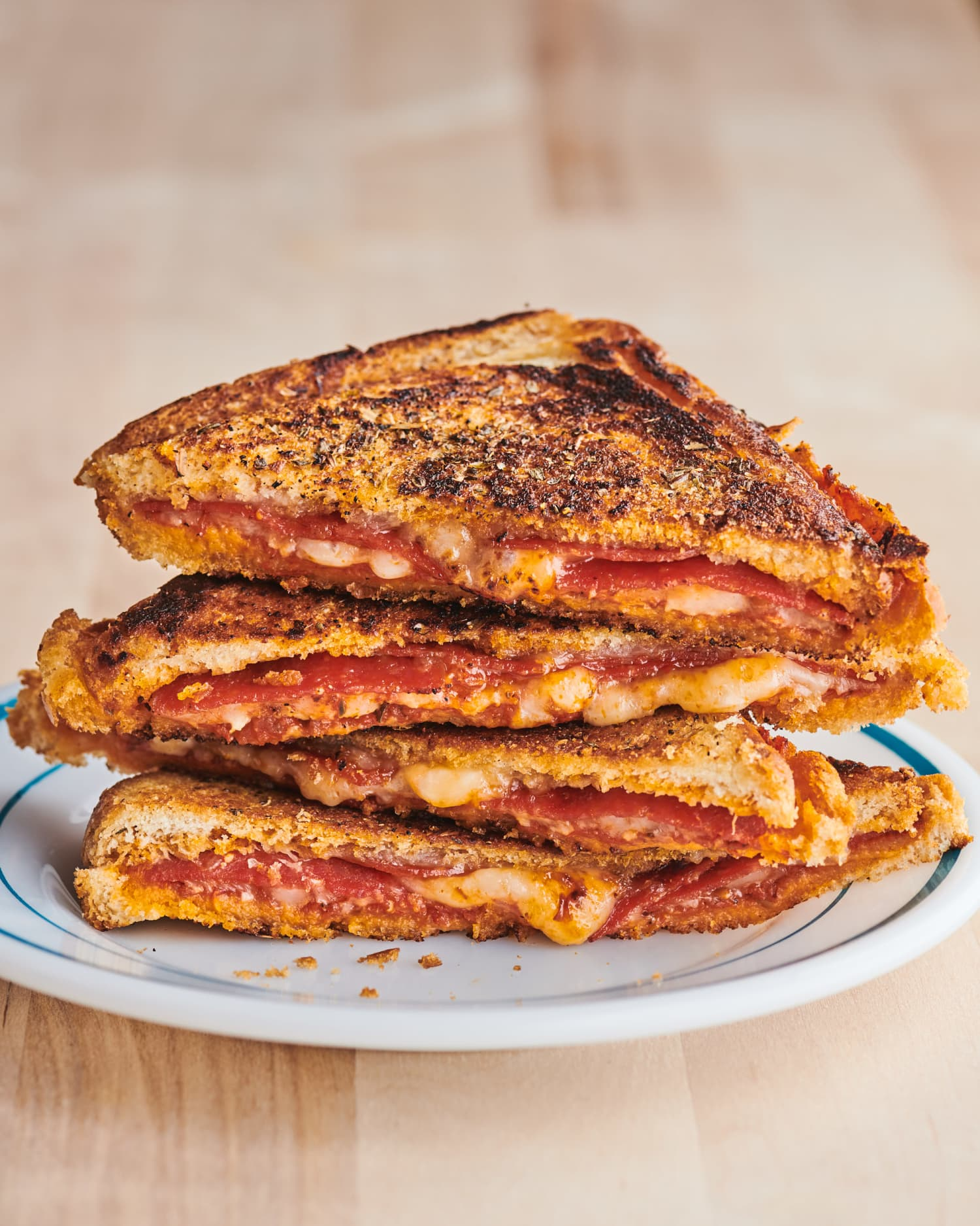 This Sandwich Combines the Best of a Panini, Grilled Cheese, and Pizza