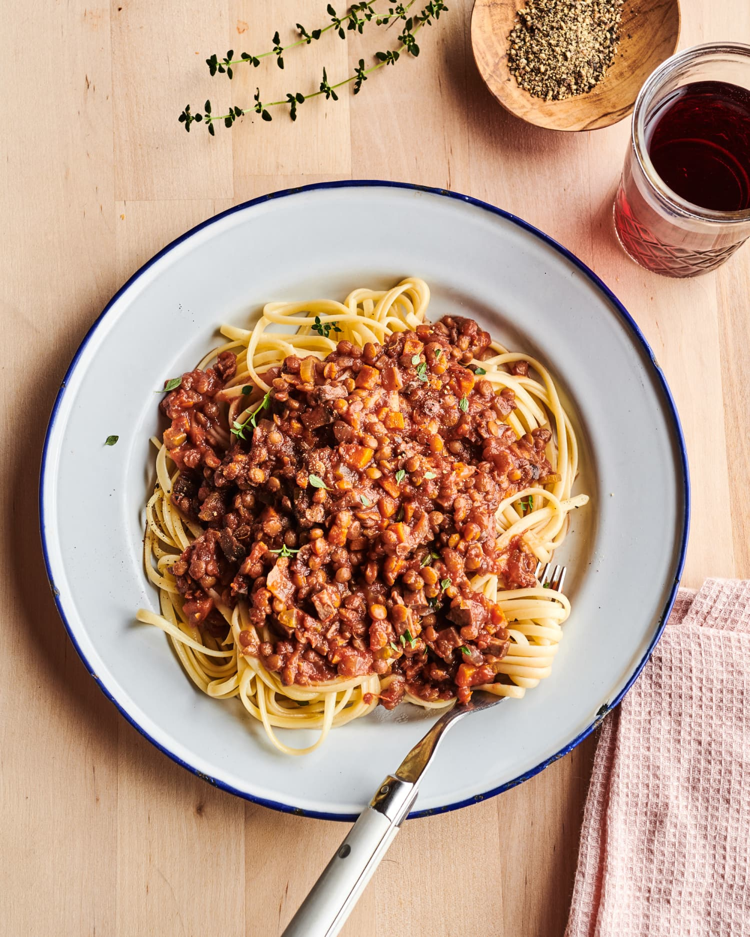 Slow Cooker Mushroom Bolognese Is the Most Comforting Dinner You'll Make This Week