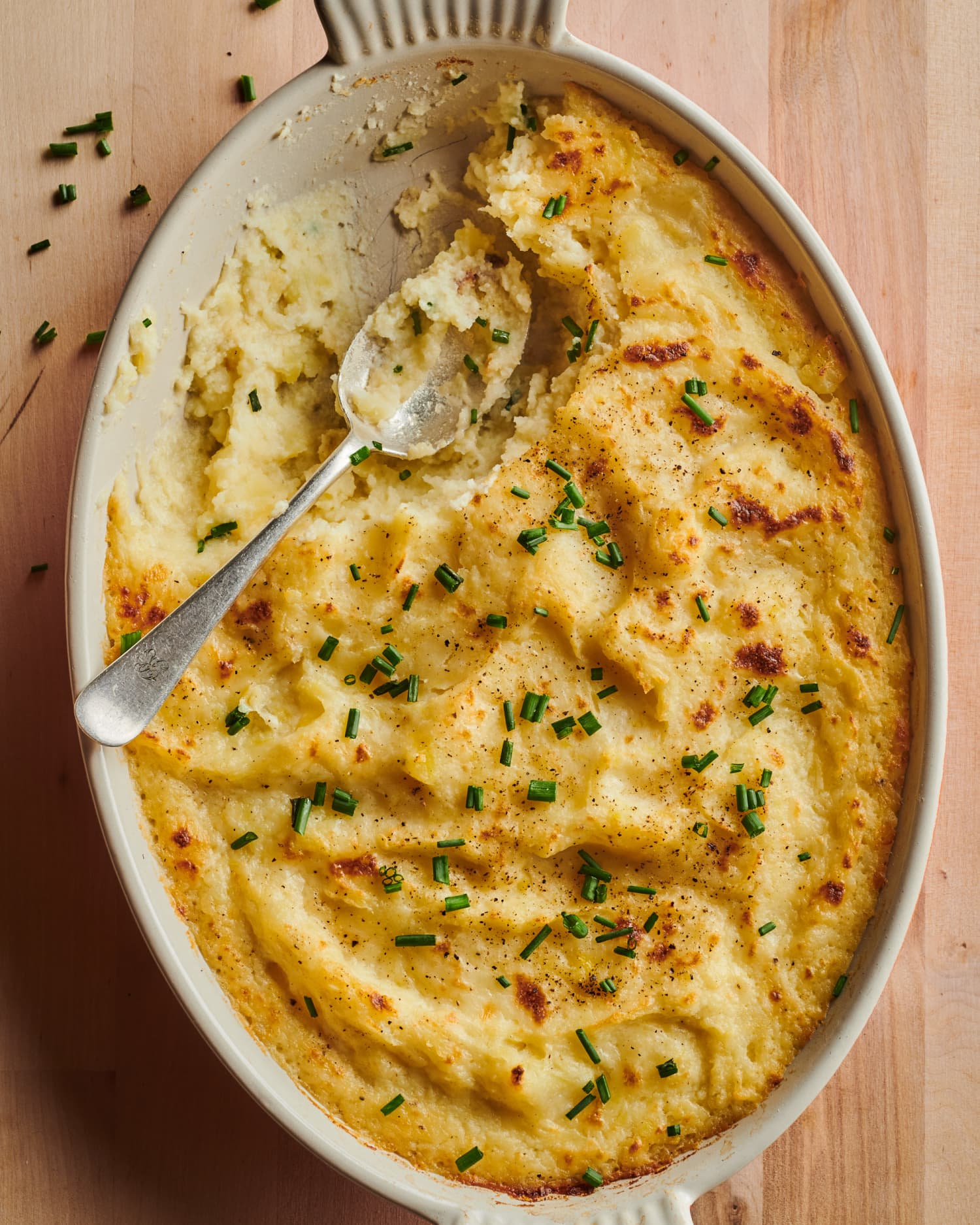 Cheesy Baked Mashed Potatoes Are the Perfect Make-Ahead Side