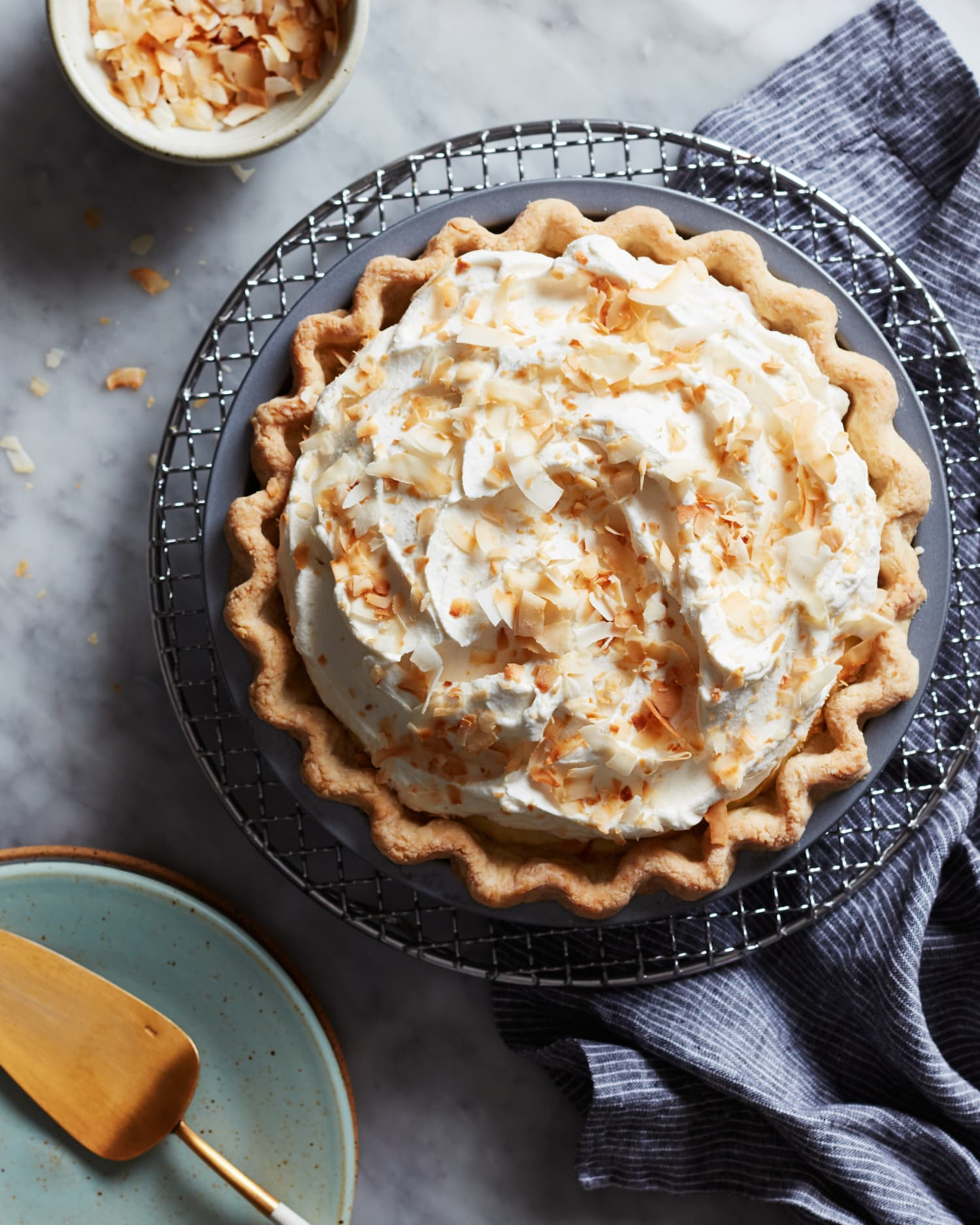 Old-Fashioned Coconut Cream Pie Will Never Go Out of Style