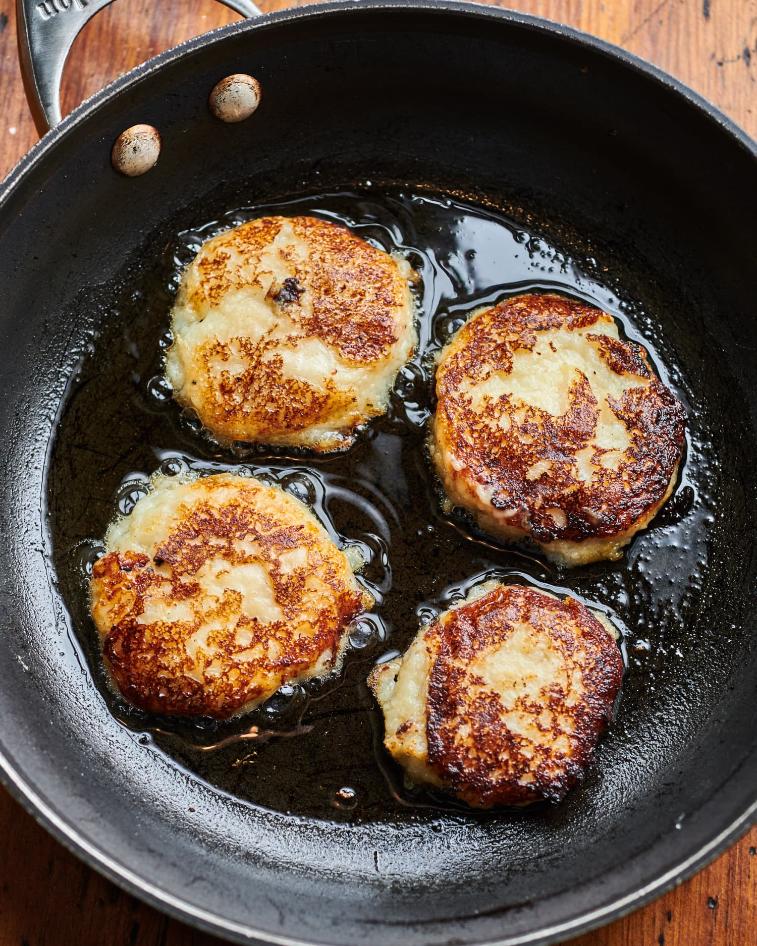 Fluffy Mashed Potato Cakes Are the Best Way to Eat Leftover Mashed Potatoes