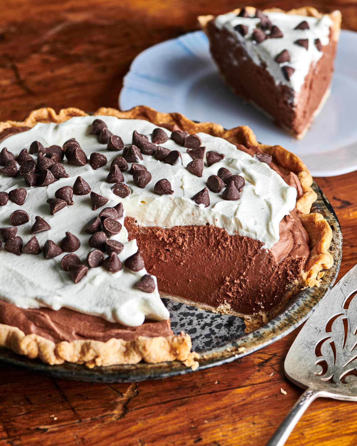 The Secret to the Easiest Chocolate Pie? Marshmallows!