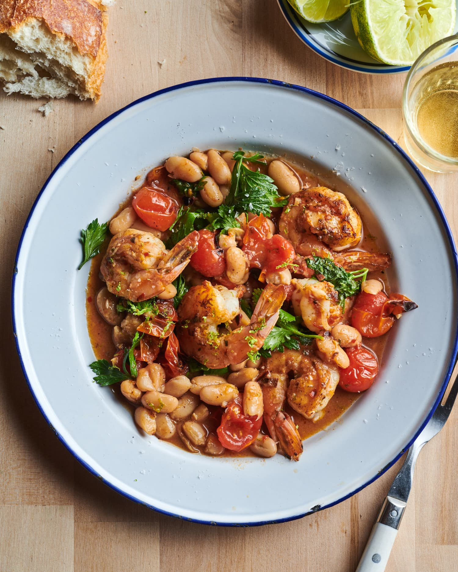 The 20-Minute Garlicky Shrimp Dinner You'll Make Again and Again