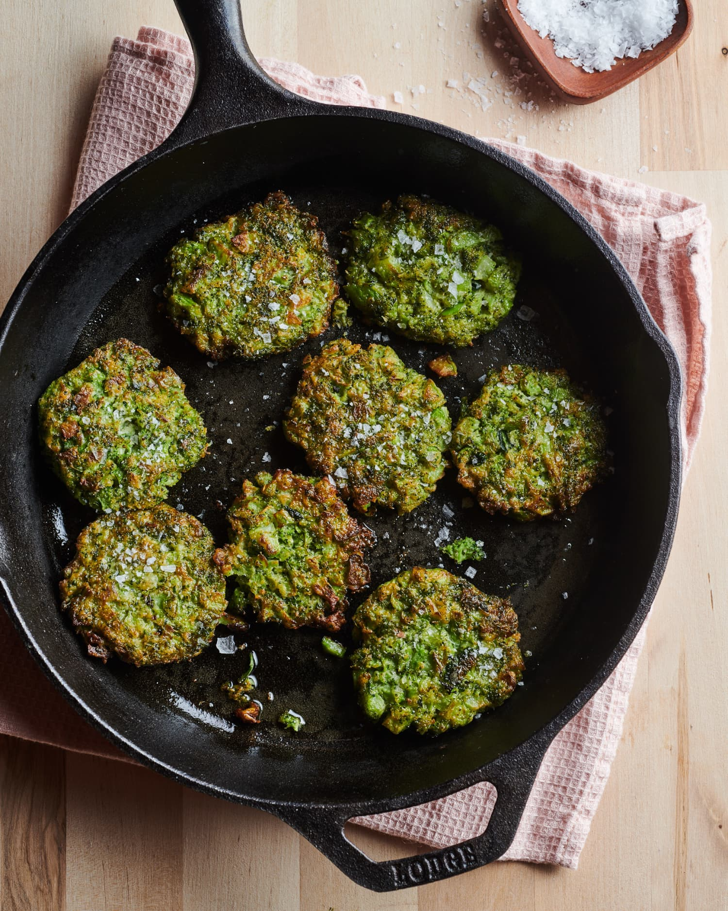 I Can't Stop Making These 2-Ingredient Broccoli Fritters