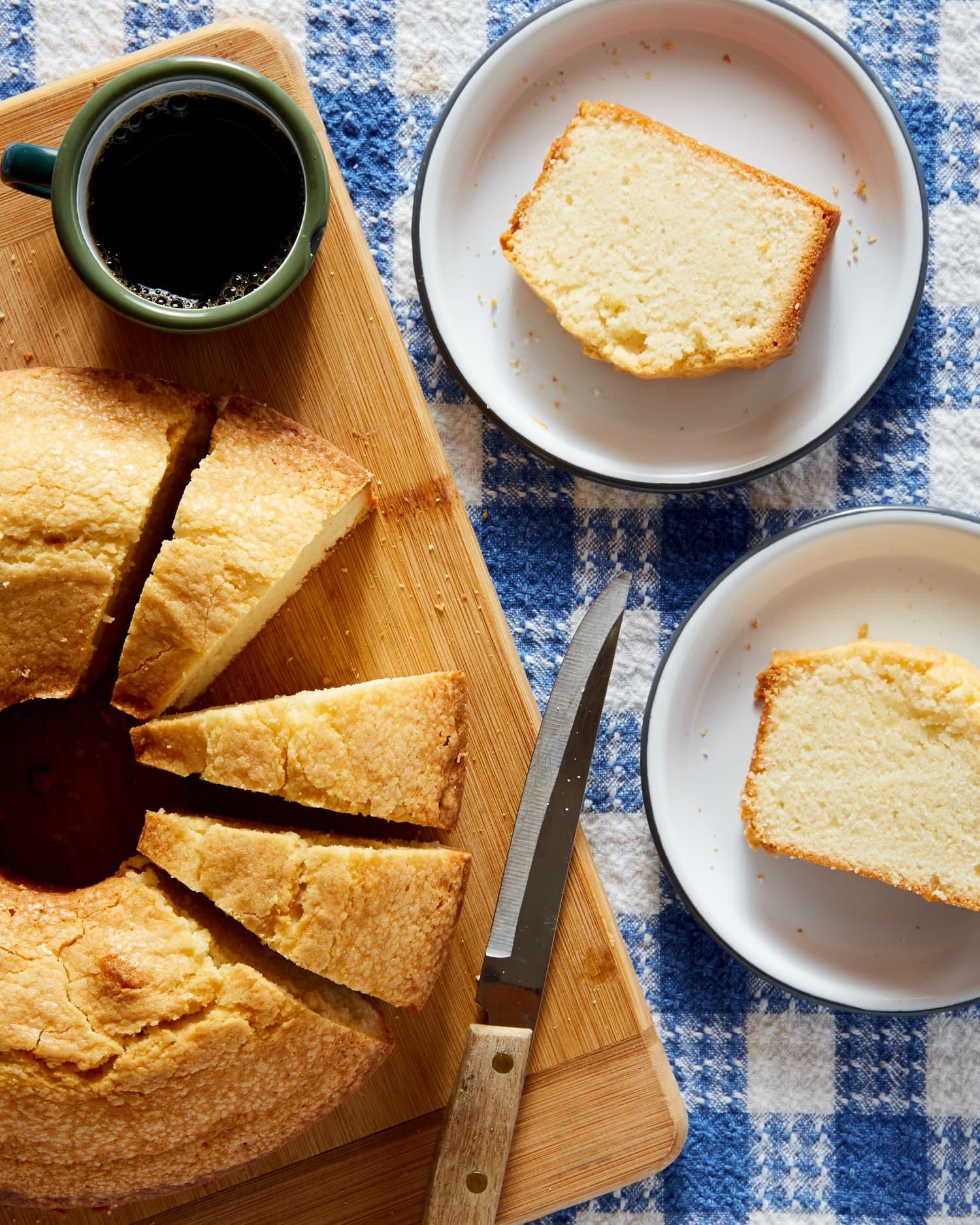 Edna Lewis' White Pound Cake
