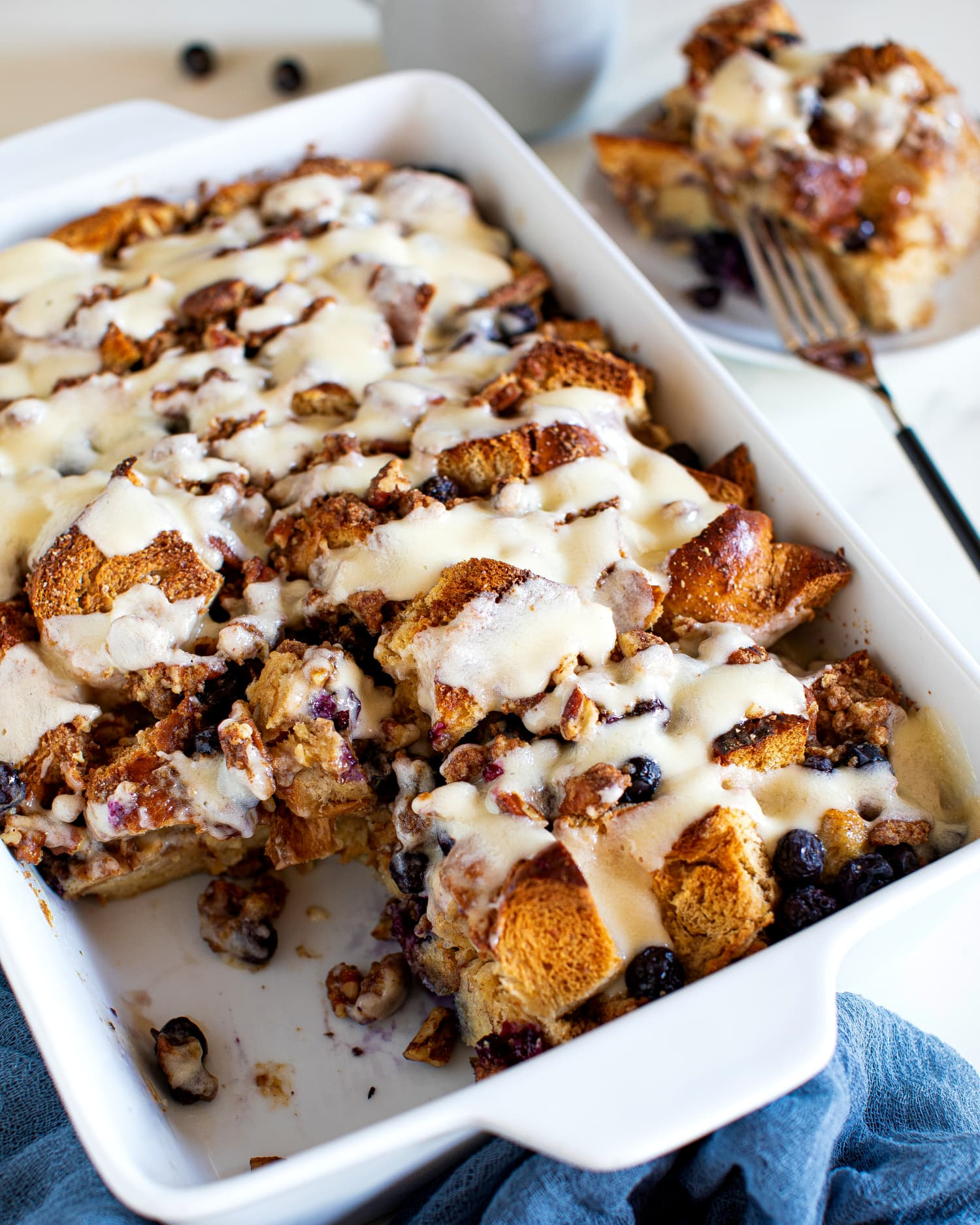Blueberry Cheesecake French Toast Casserole Is the Perfect Make-Ahead Brunch
