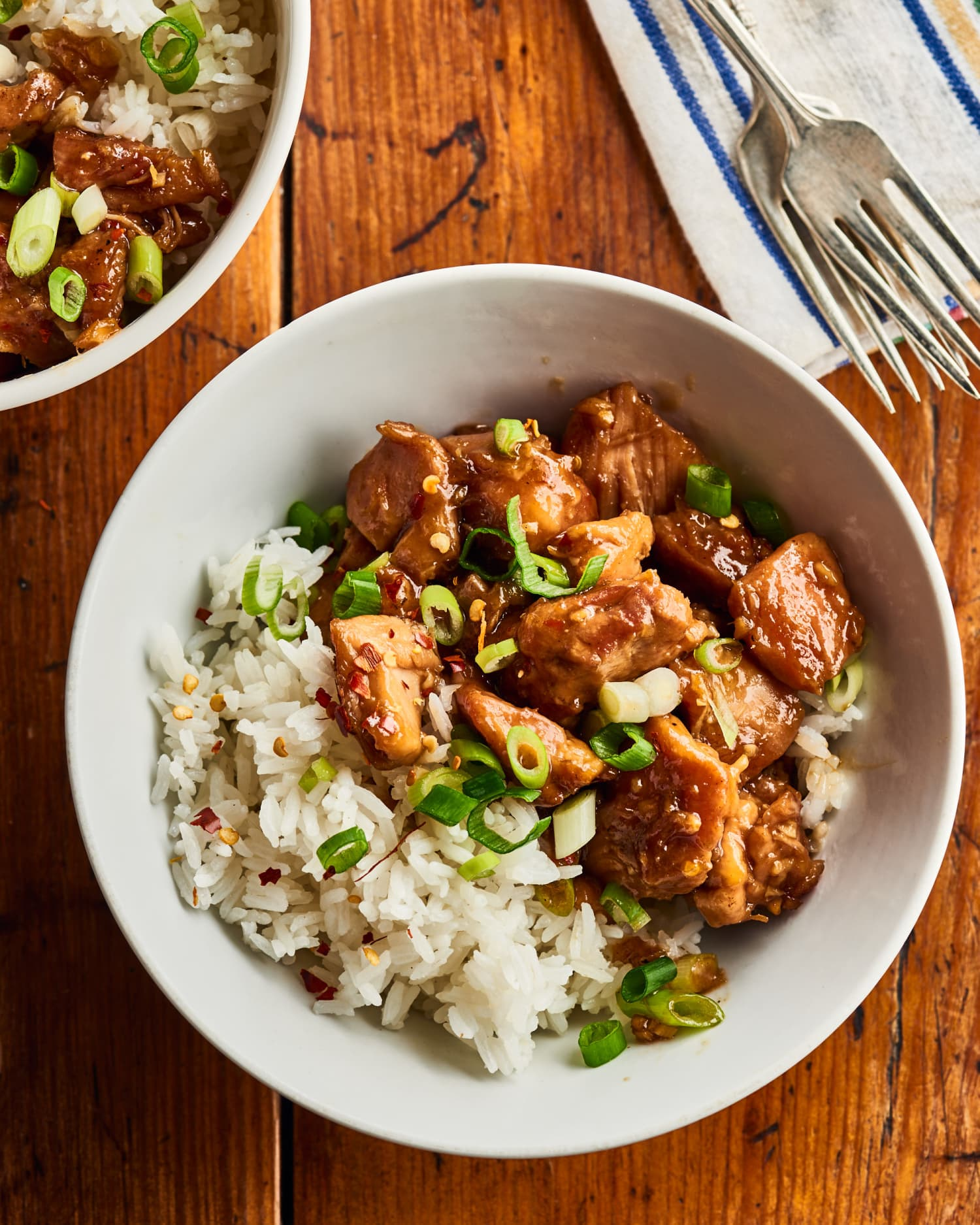 Sticky-Sweet Bourbon Chicken Is Tender, Juicy, and Packed with Flavor