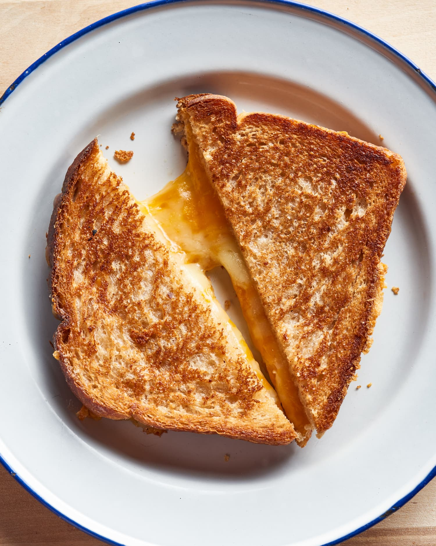 Air Fryer Grilled Cheese Sandwiches Are Golden, Gooey, and Absolutely Foolproof