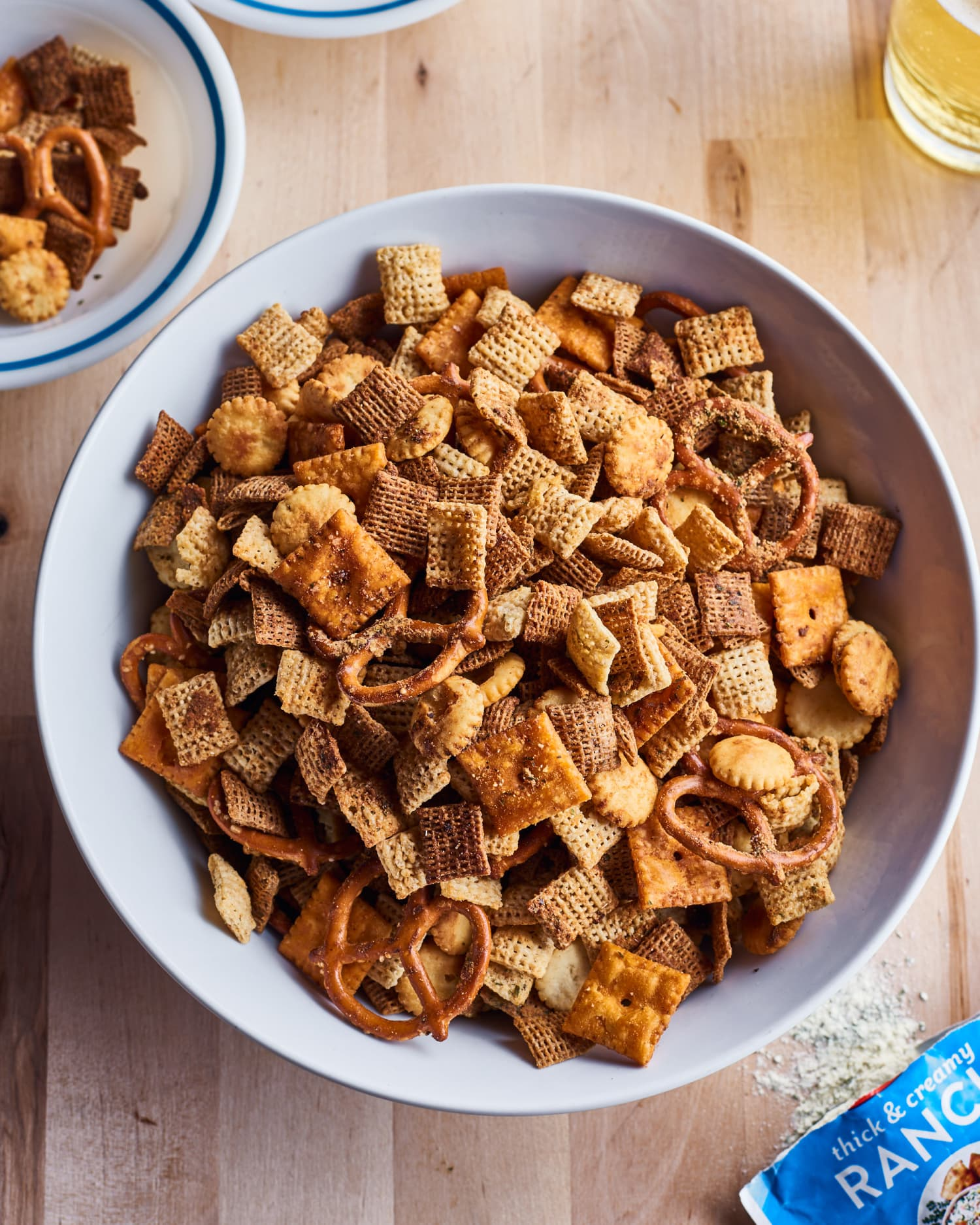 Crunchy DIY Chex Mix Is the Best Way to Put a Packet of Ranch Seasoning to Use