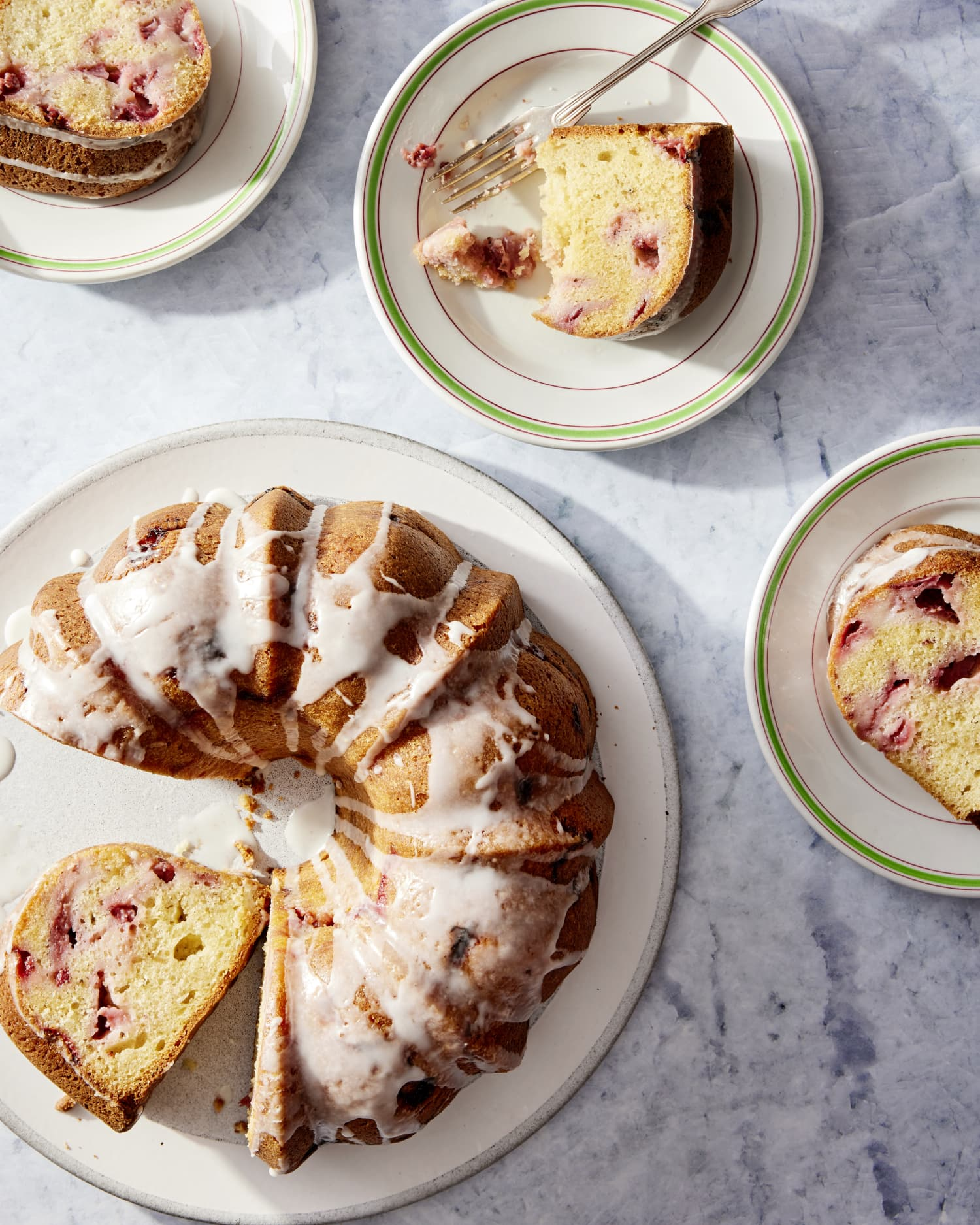 You'll Be Making This Strawberry Pound Cake on Repeat This Summer