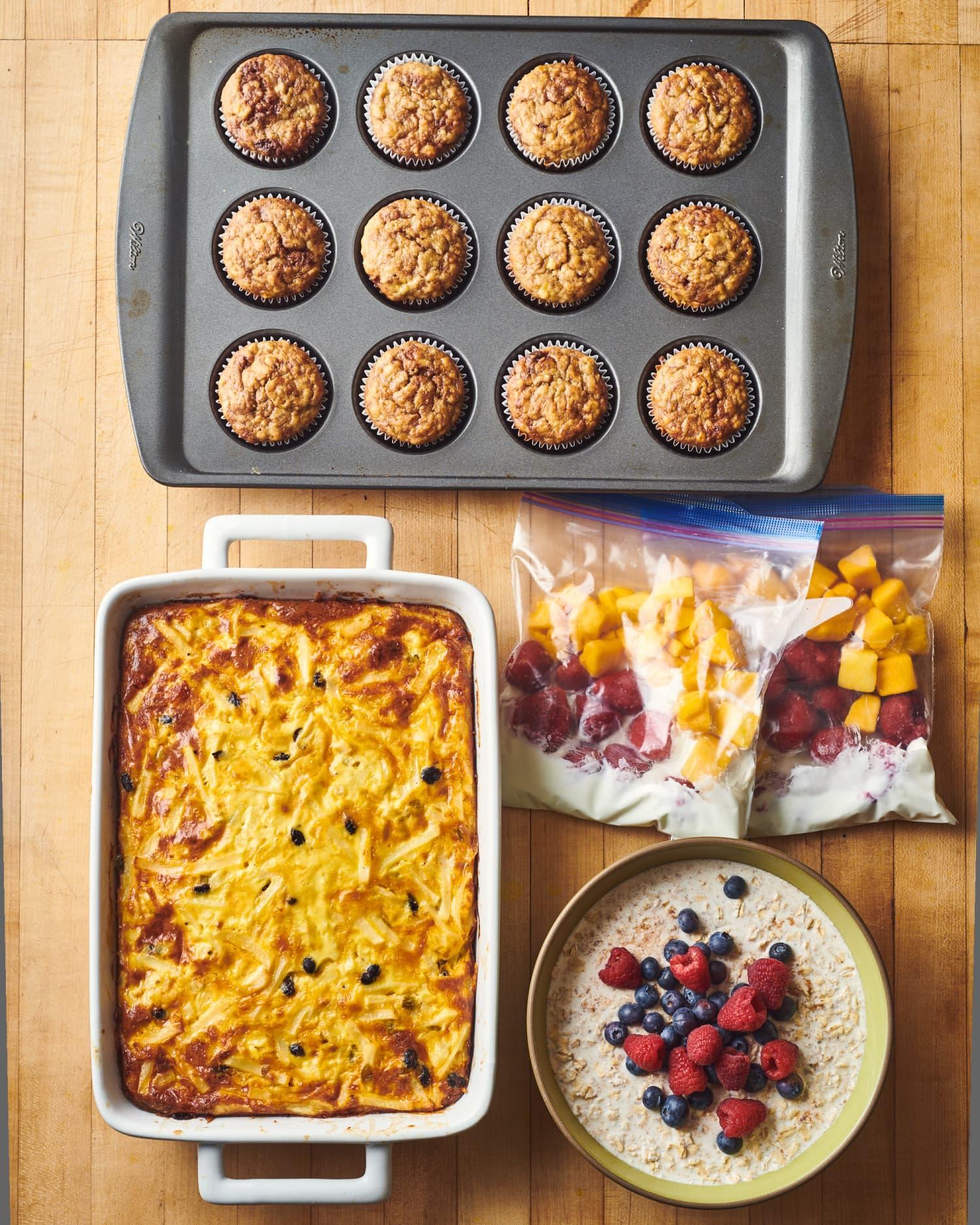 Meal Prep Plan: How I Prep 2 Weeks of Easy Breakfasts in Just 1 Hour