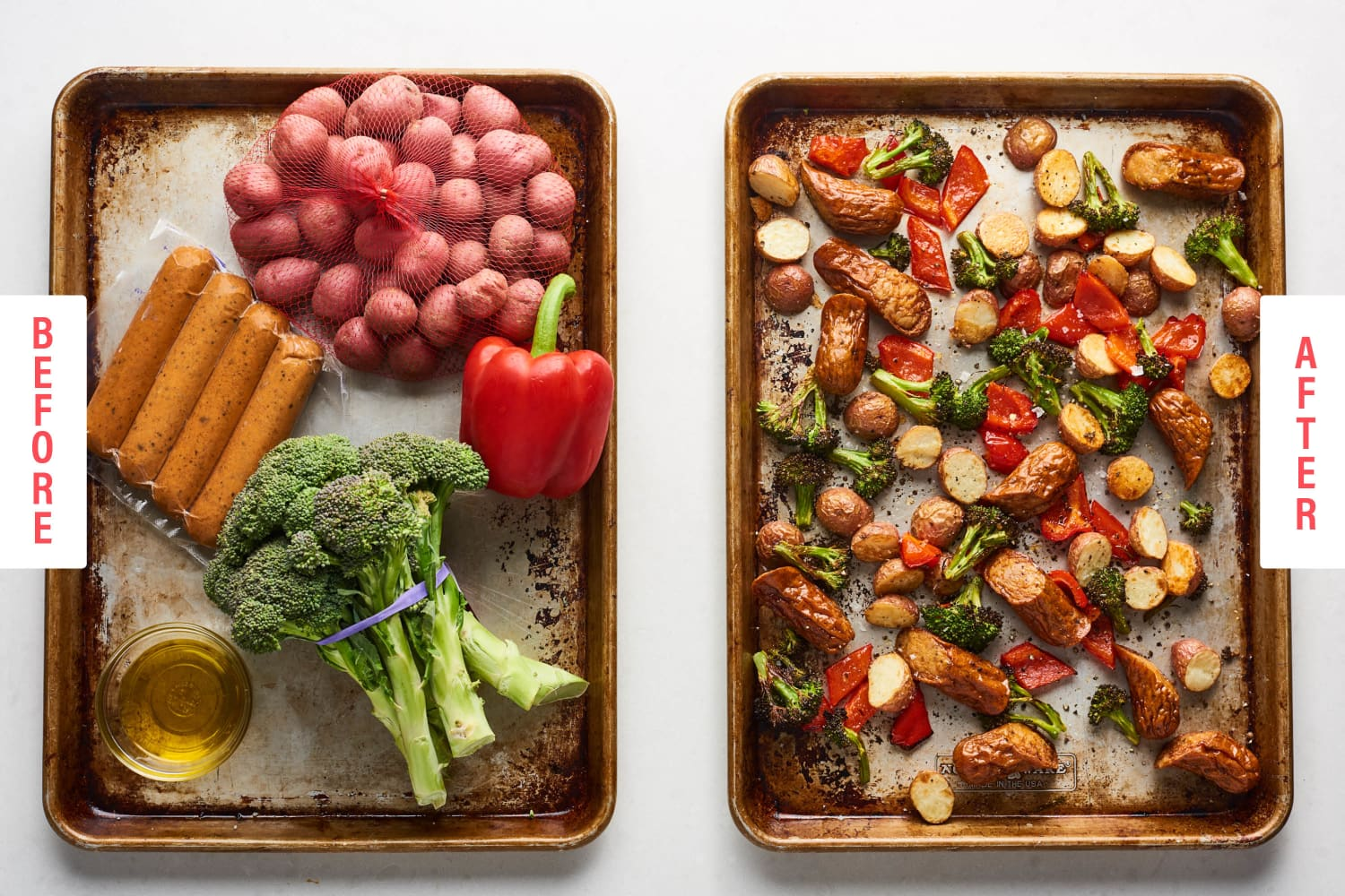 These 5-Ingredient Sheet Pan Dinners Are Impossibly Easy
