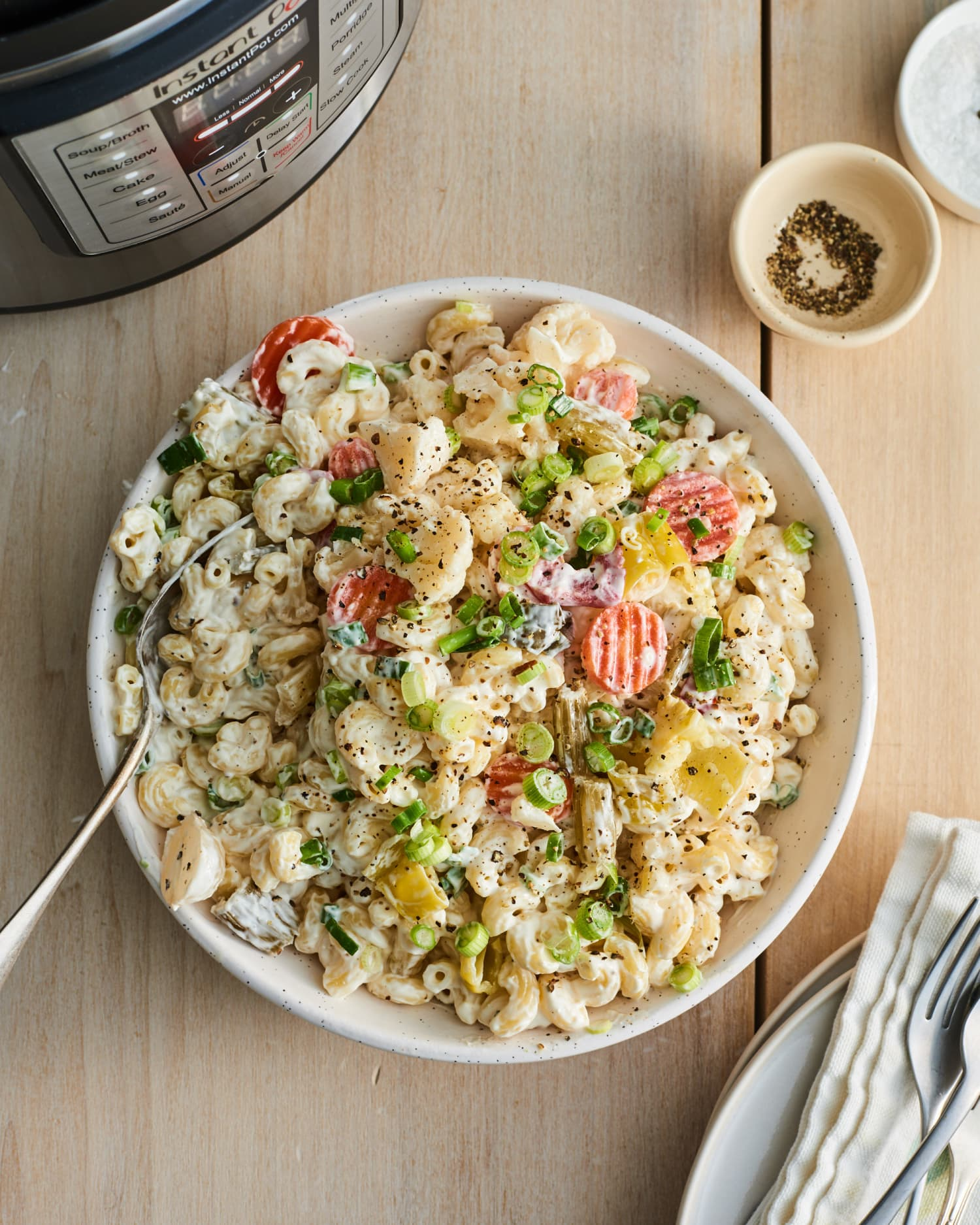 This Creamy, Tangy Macaroni Salad Is Full of Ingenious Shortcuts