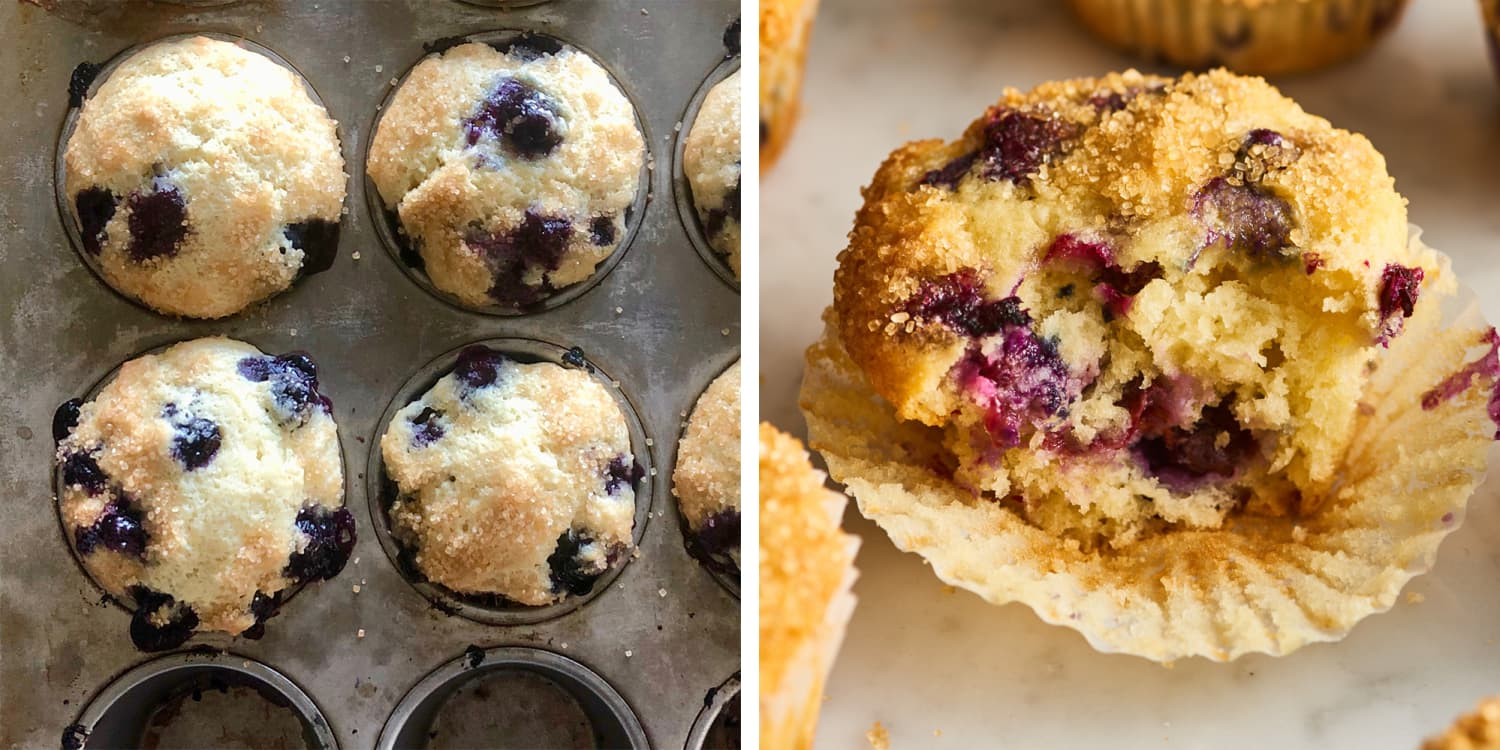 I Made Smitten Kitchen's Famous Blueberry Muffins (They Have More than 800 Comments)