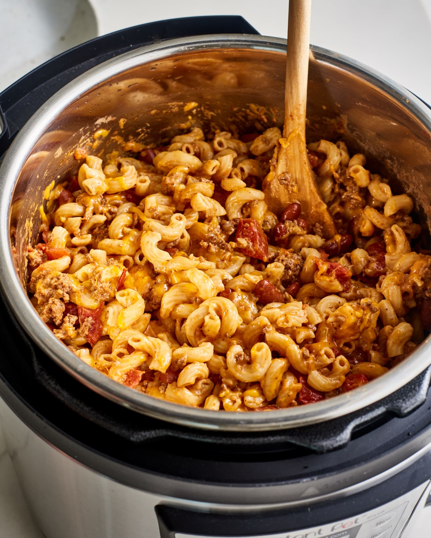 Cheesy Instant Pot Chili Mac Is Ready in 20 Minutes